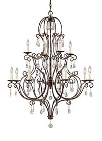 Chateau from feiss f193884mbz chateau collection 12 light multi tier chandelier aloadofball Images