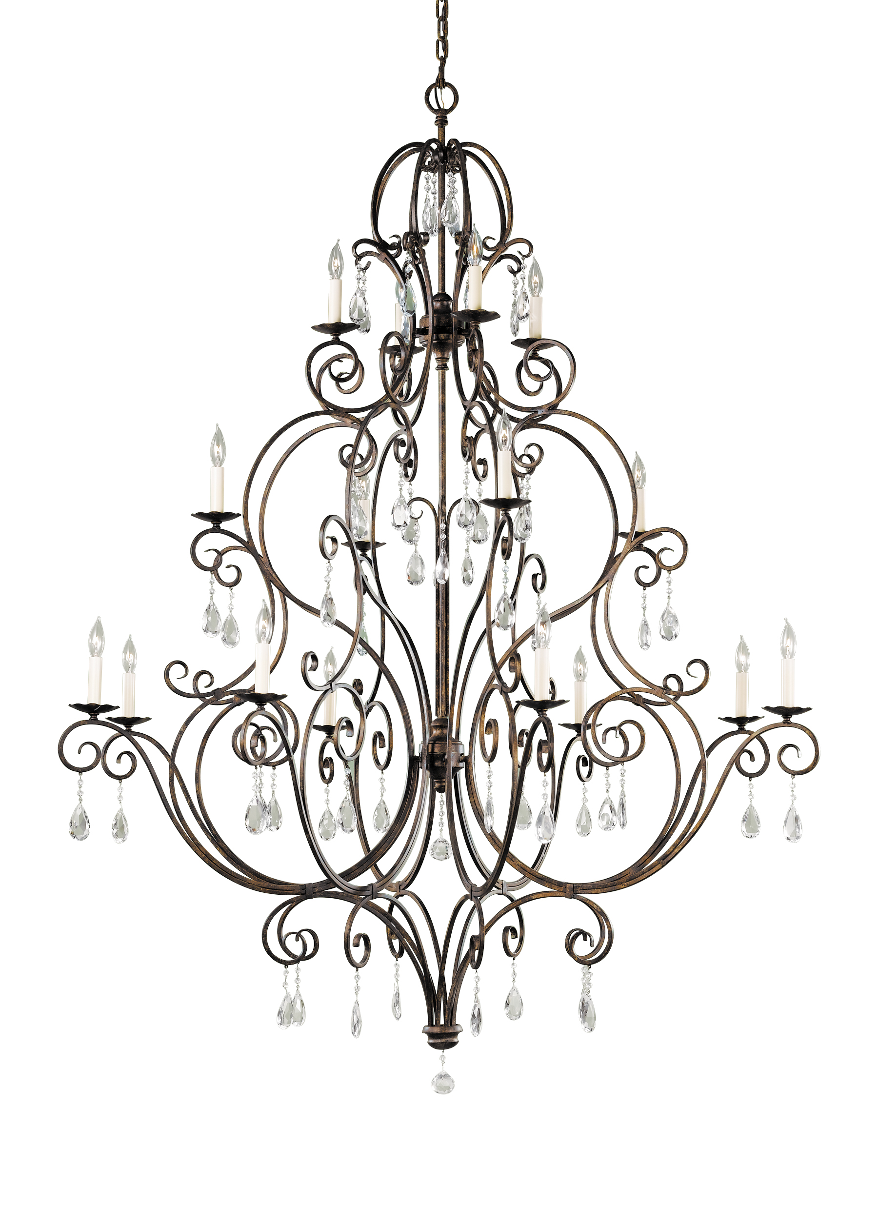 F2110844mbz16 light multi tier chandeliermocha bronze loading zoom aloadofball Gallery