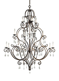 Chateau from feiss f2110844mbz chateau collection 16 light multi tier chandelier aloadofball Images