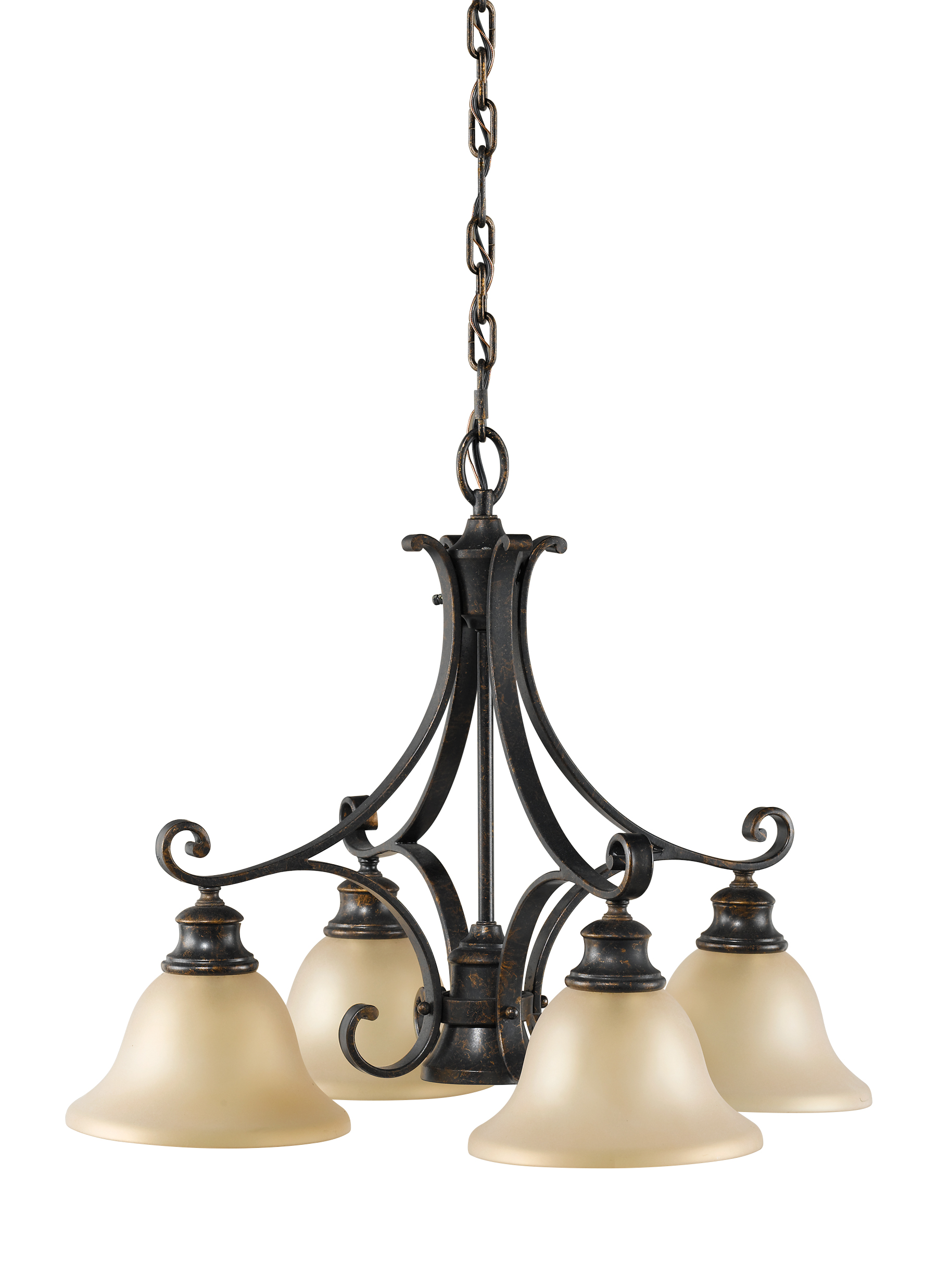 F218641LBR5 Light Kitchen ChandelierLiberty Bronze