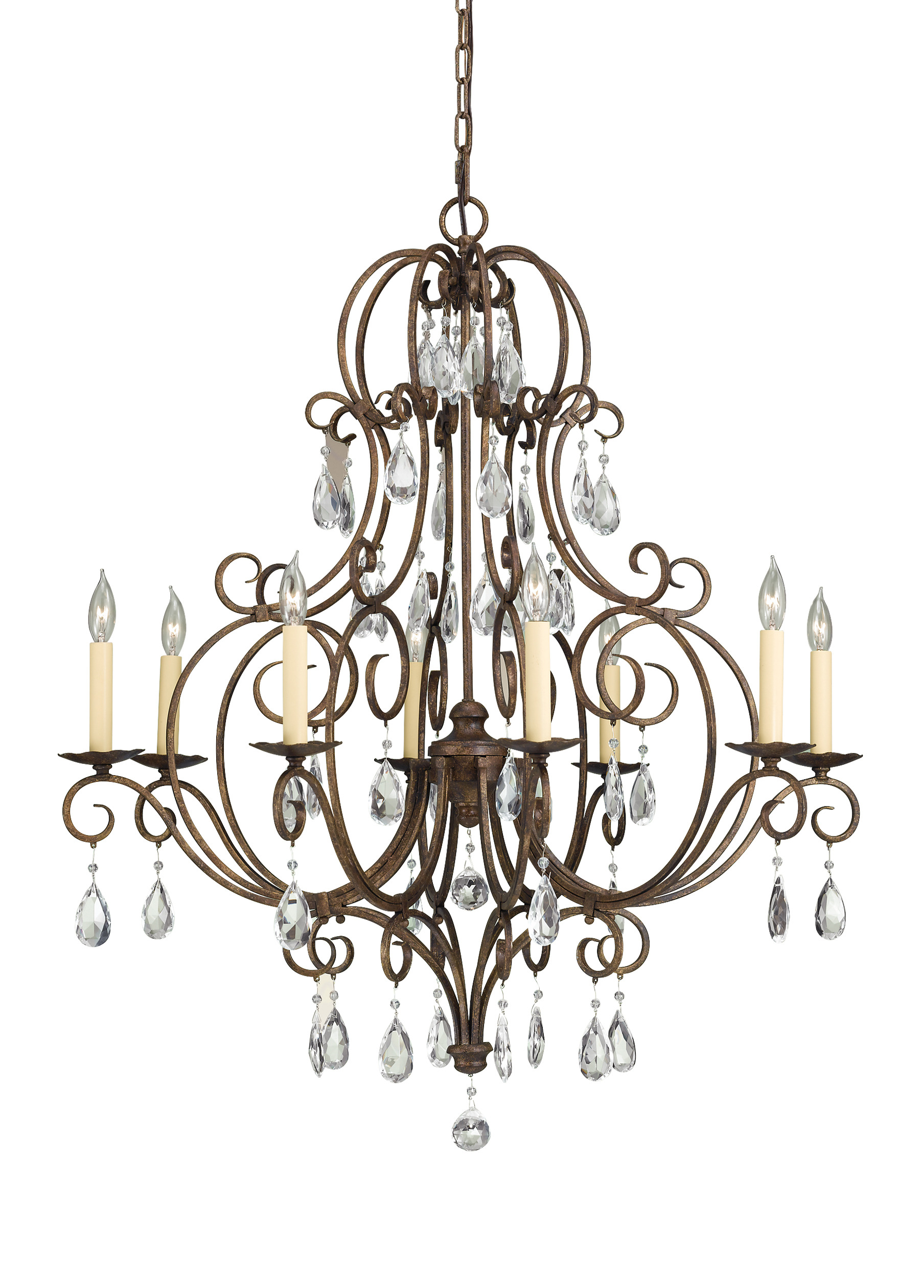 Chateau from feiss chateau collection 8 light single tier chandelier aloadofball Gallery