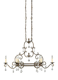 Chateau from feiss chateau collection 6 light single tier chandelier aloadofball Images
