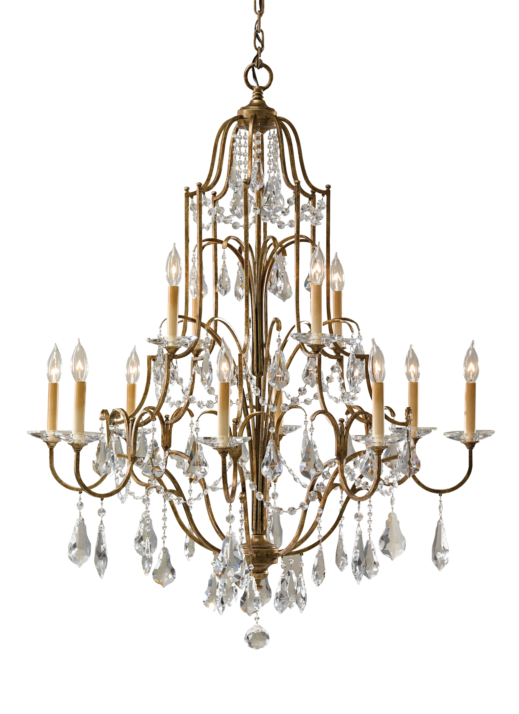 Valentina collection from feiss 12 light multi tier chandelier arubaitofo Image collections