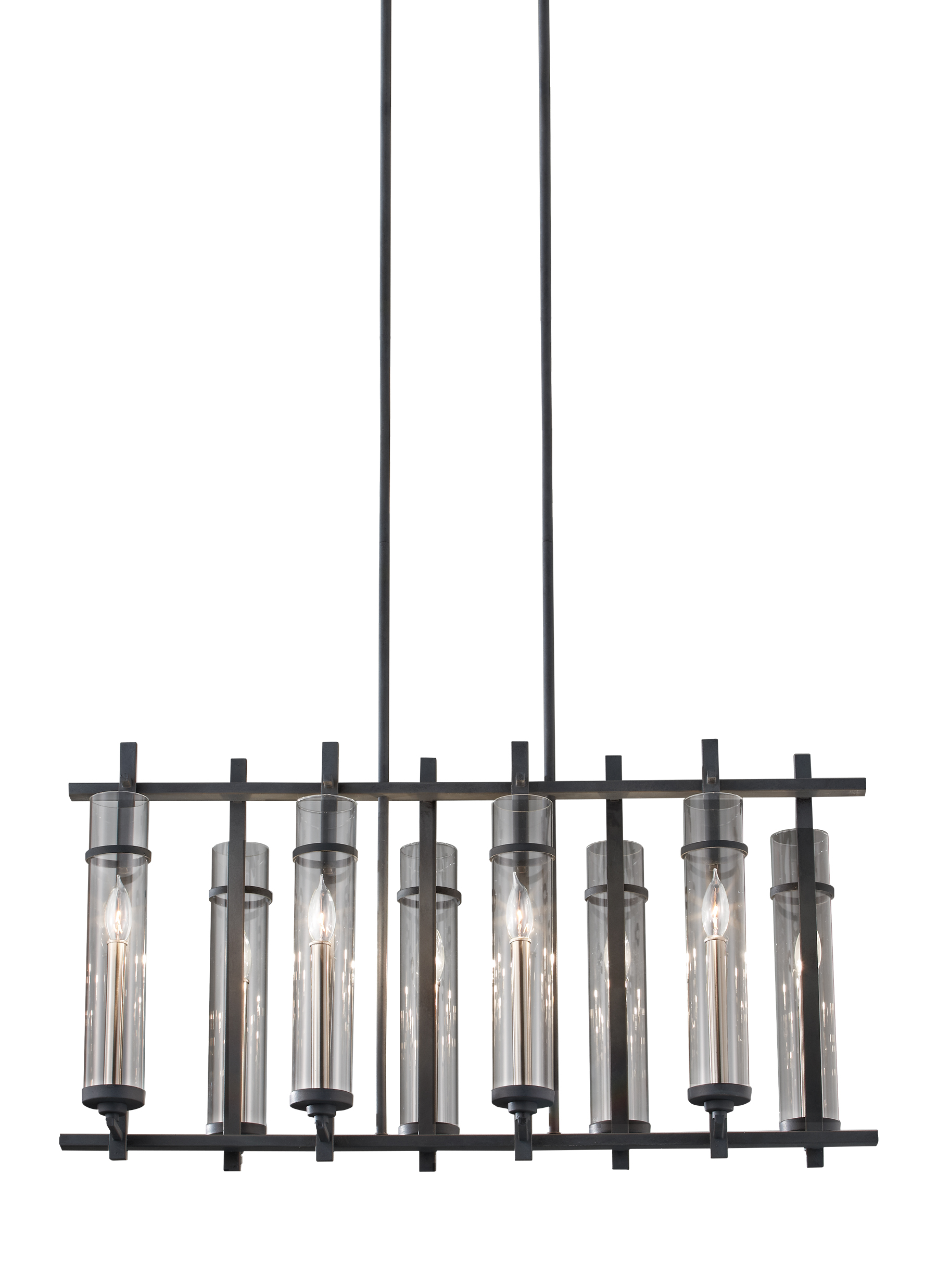 F26308afbs8 light island chandelierantique forged iron loading zoom aloadofball Image collections