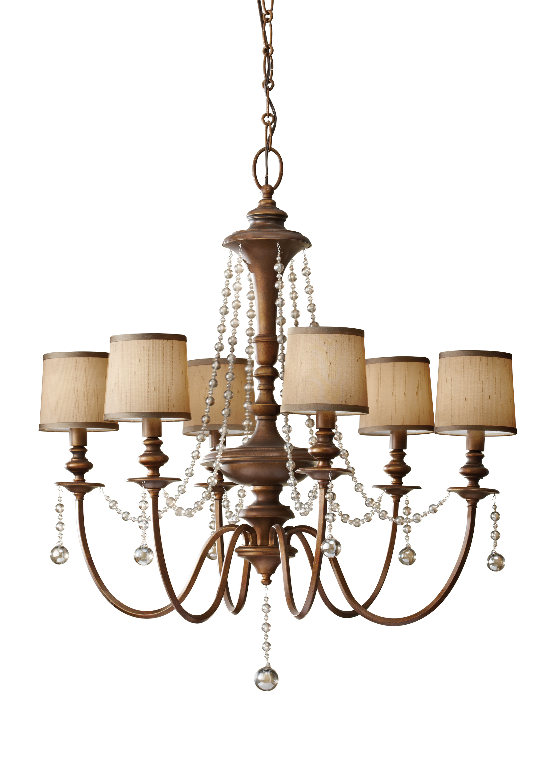 F27226fg6 light chandelier firenze gold loading zoom arubaitofo Image collections