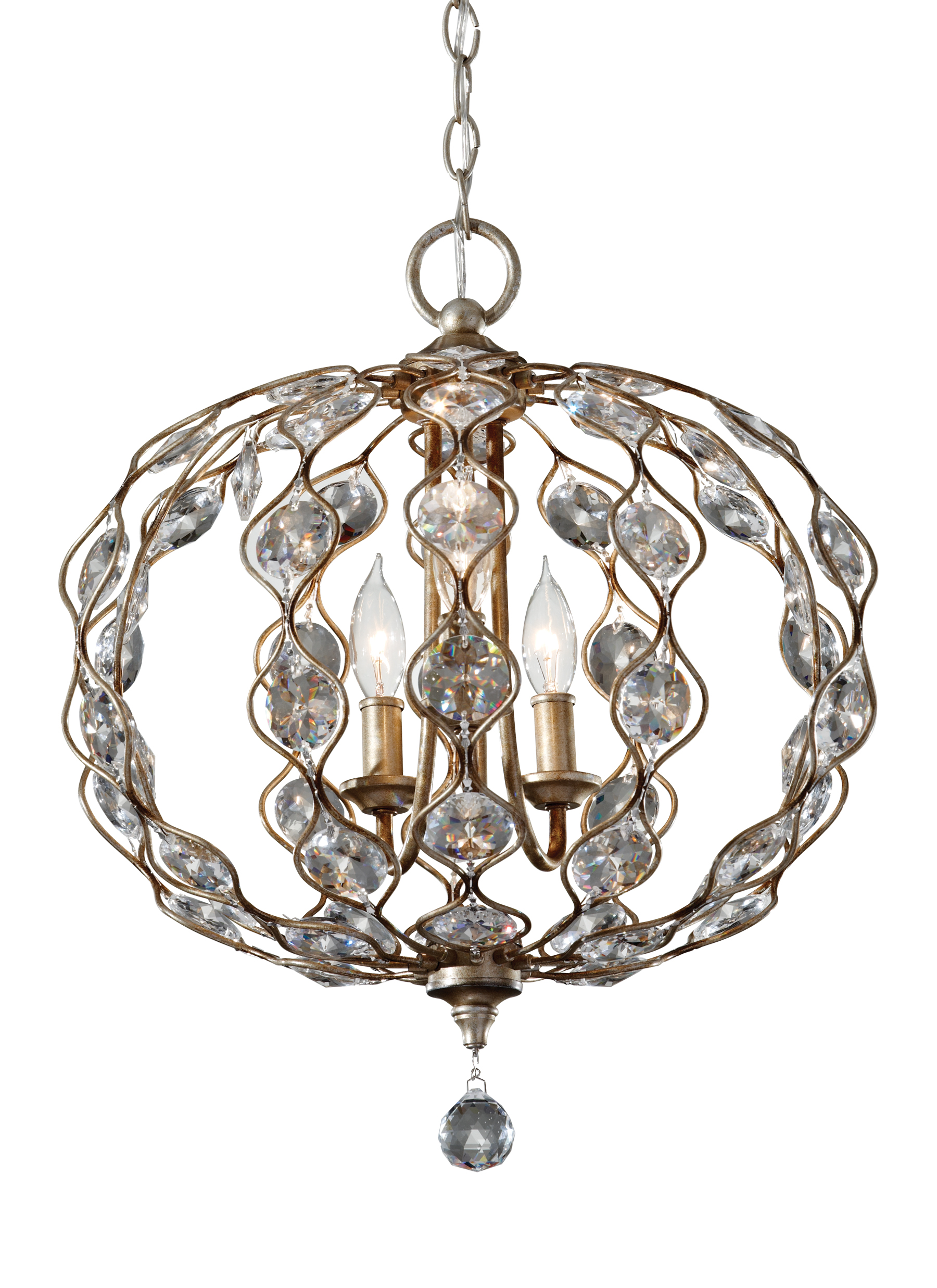 F27413bus3 light chandelier burnished silver loading zoom mozeypictures Image collections