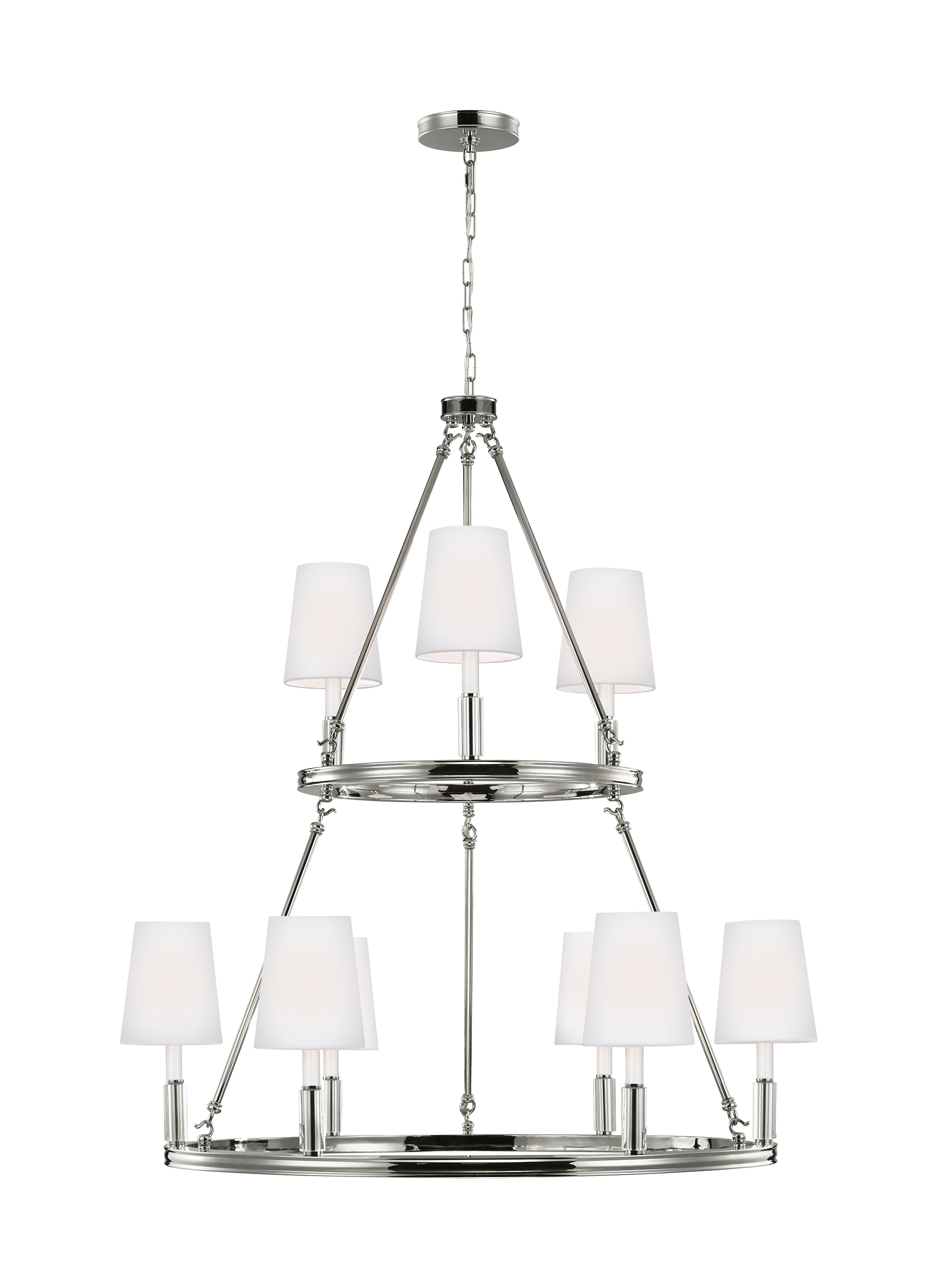 Lismore lighting collection from feiss 9 light lismore chandelier arubaitofo Gallery