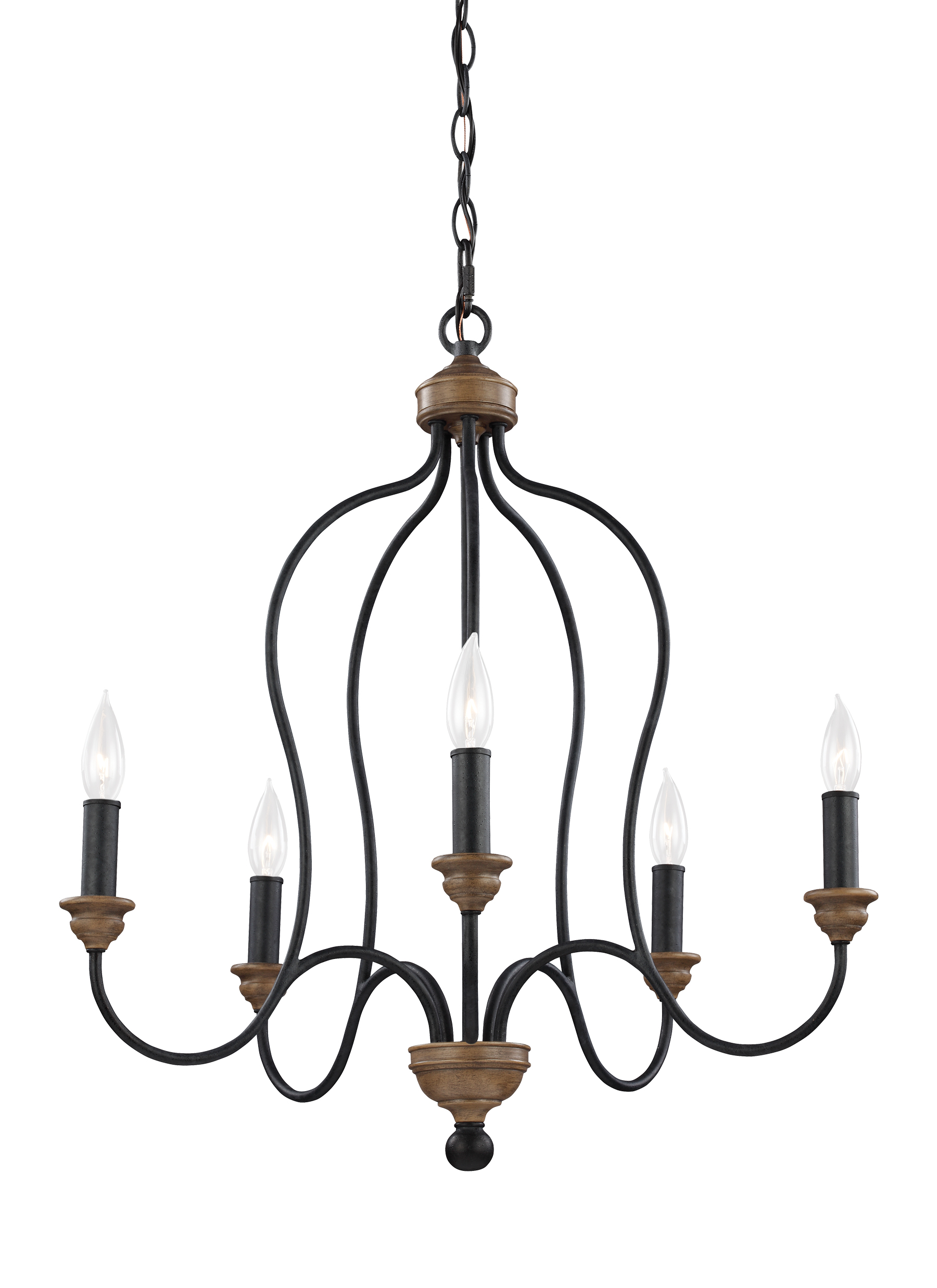 F29985dwzwo5 light chandelierdark weathered zinc weathered oak loading zoom mozeypictures Image collections