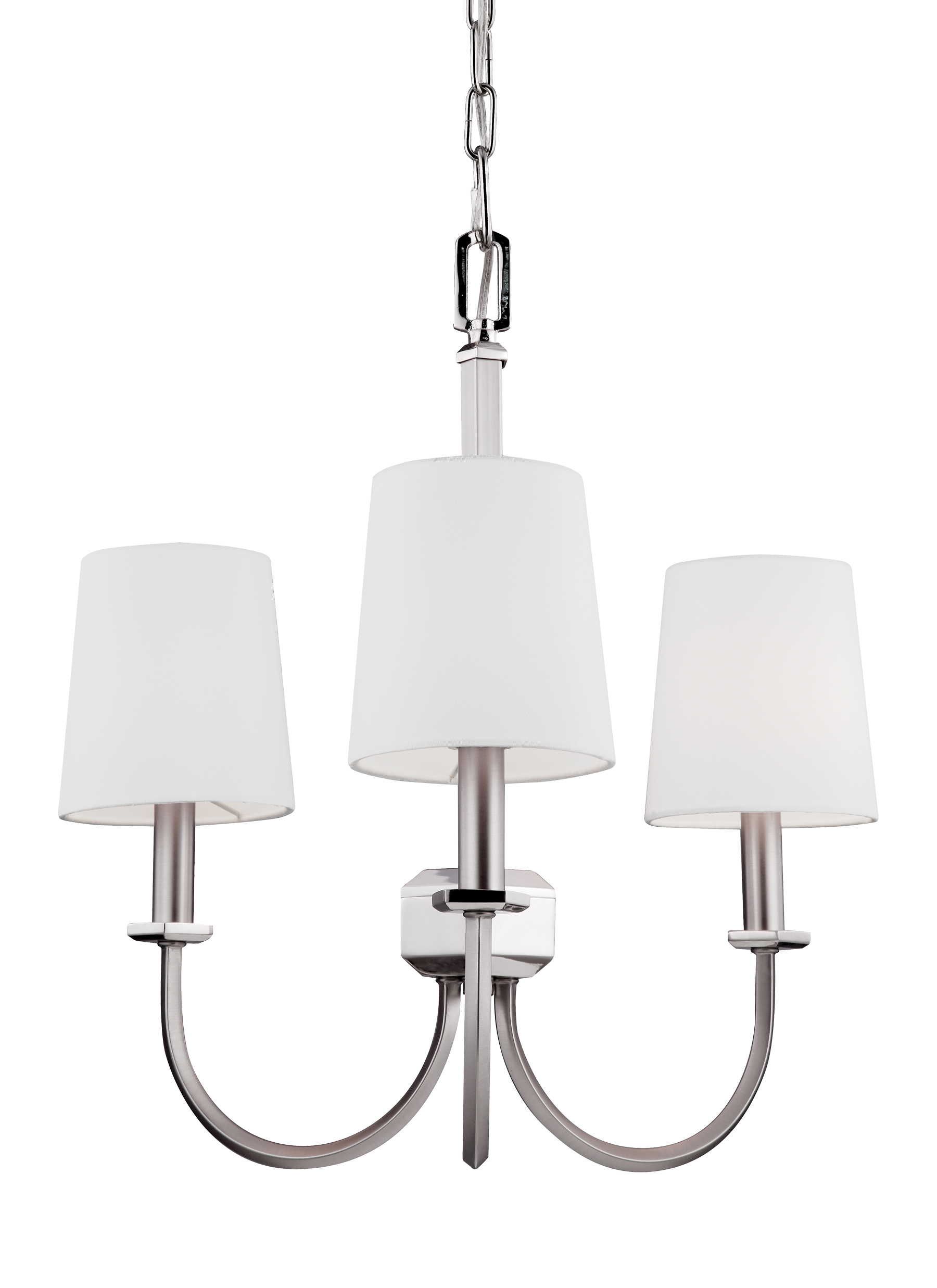 wide chandelier light pin style nickel brushed pendant charleston