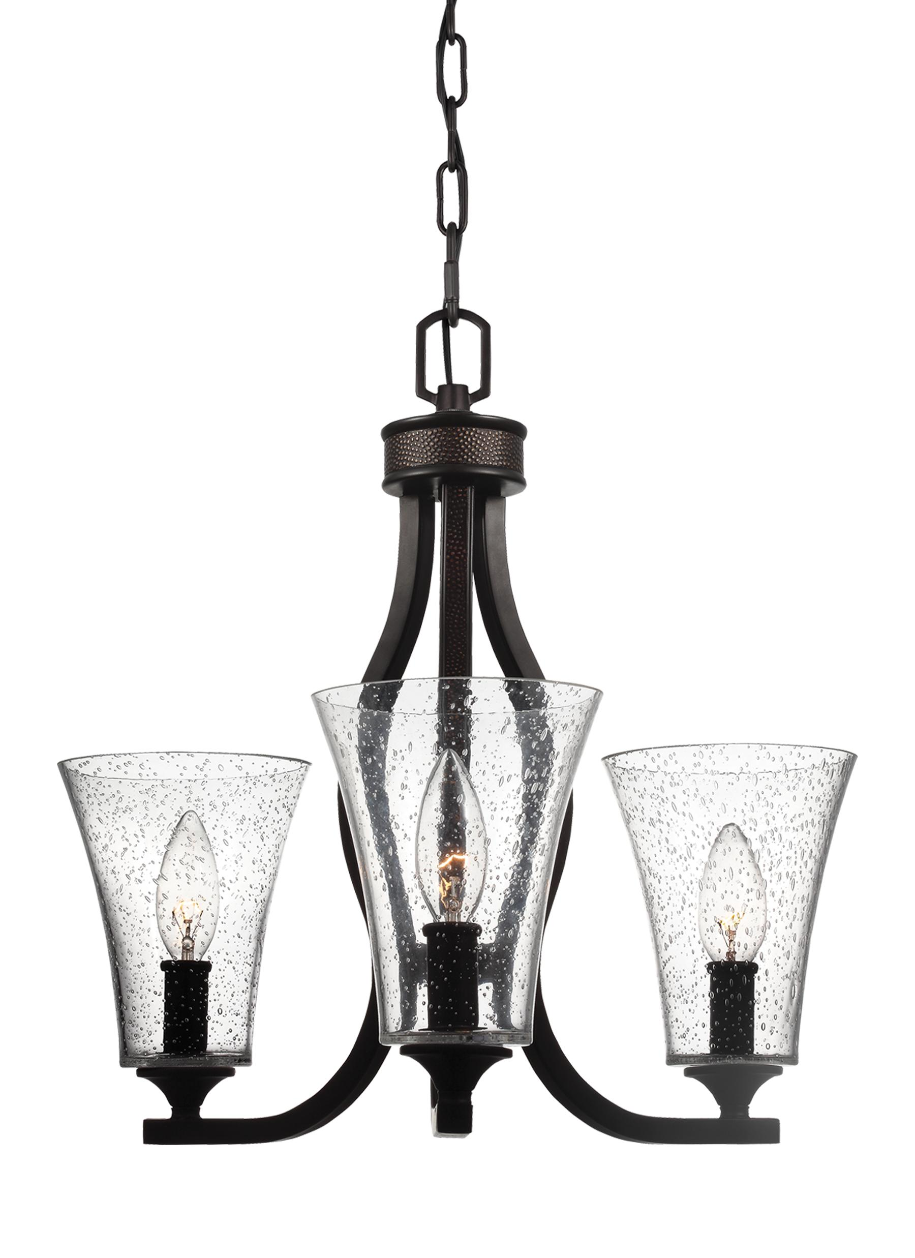 F3111 3ORB 3 Light Chandelier Oil Rubbed Bronze