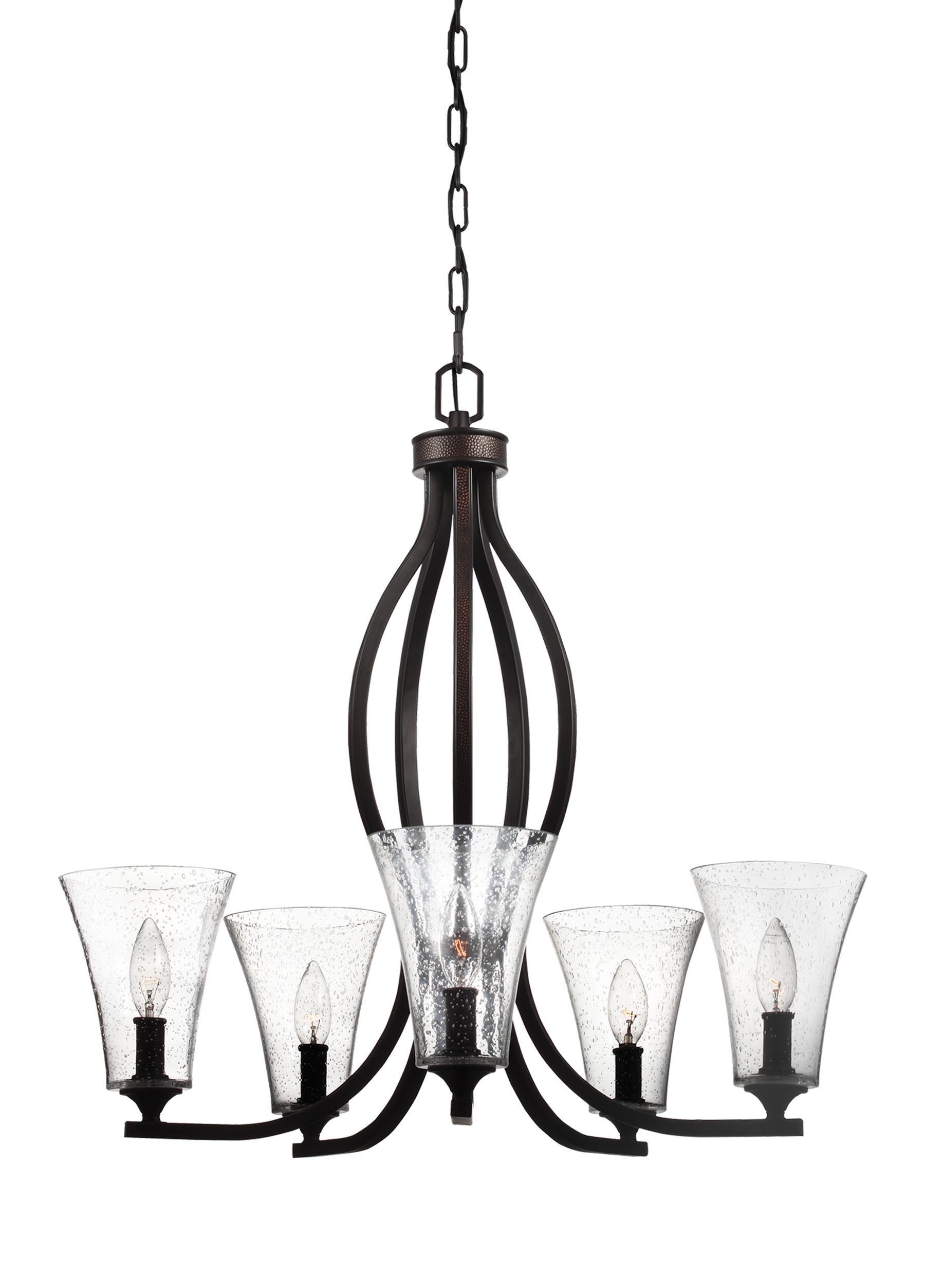 F3112 5ORB 5 Light Chandelier Oil Rubbed Bronze