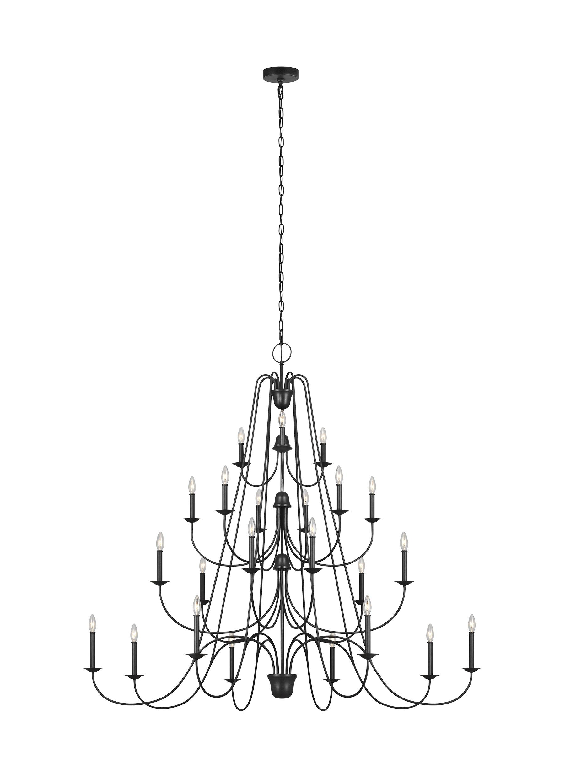 Boughton lighting collection from feiss 24 light chandelier arubaitofo Image collections