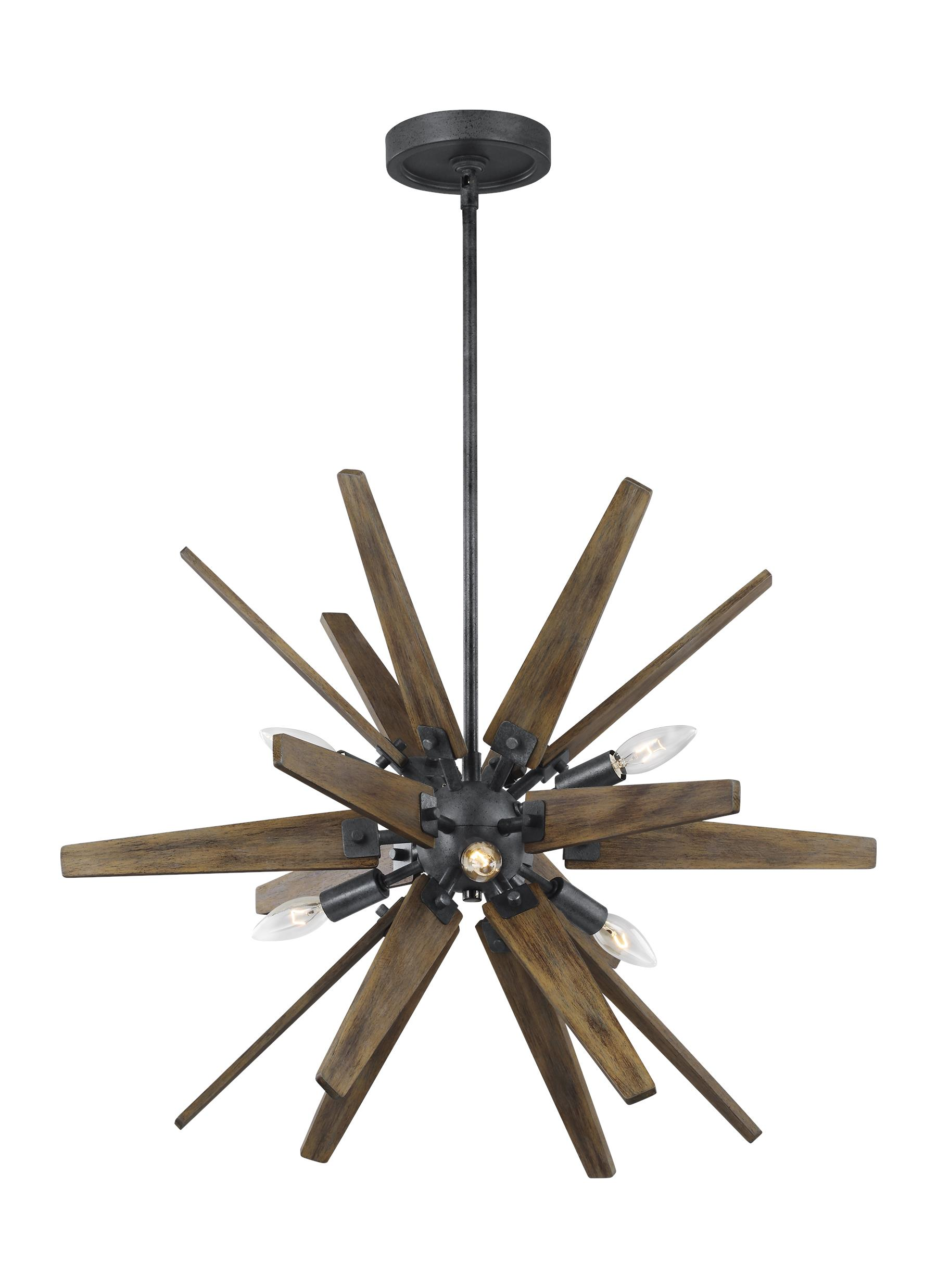 Thorne lighting collection from feiss 6 light chandelier arubaitofo Image collections
