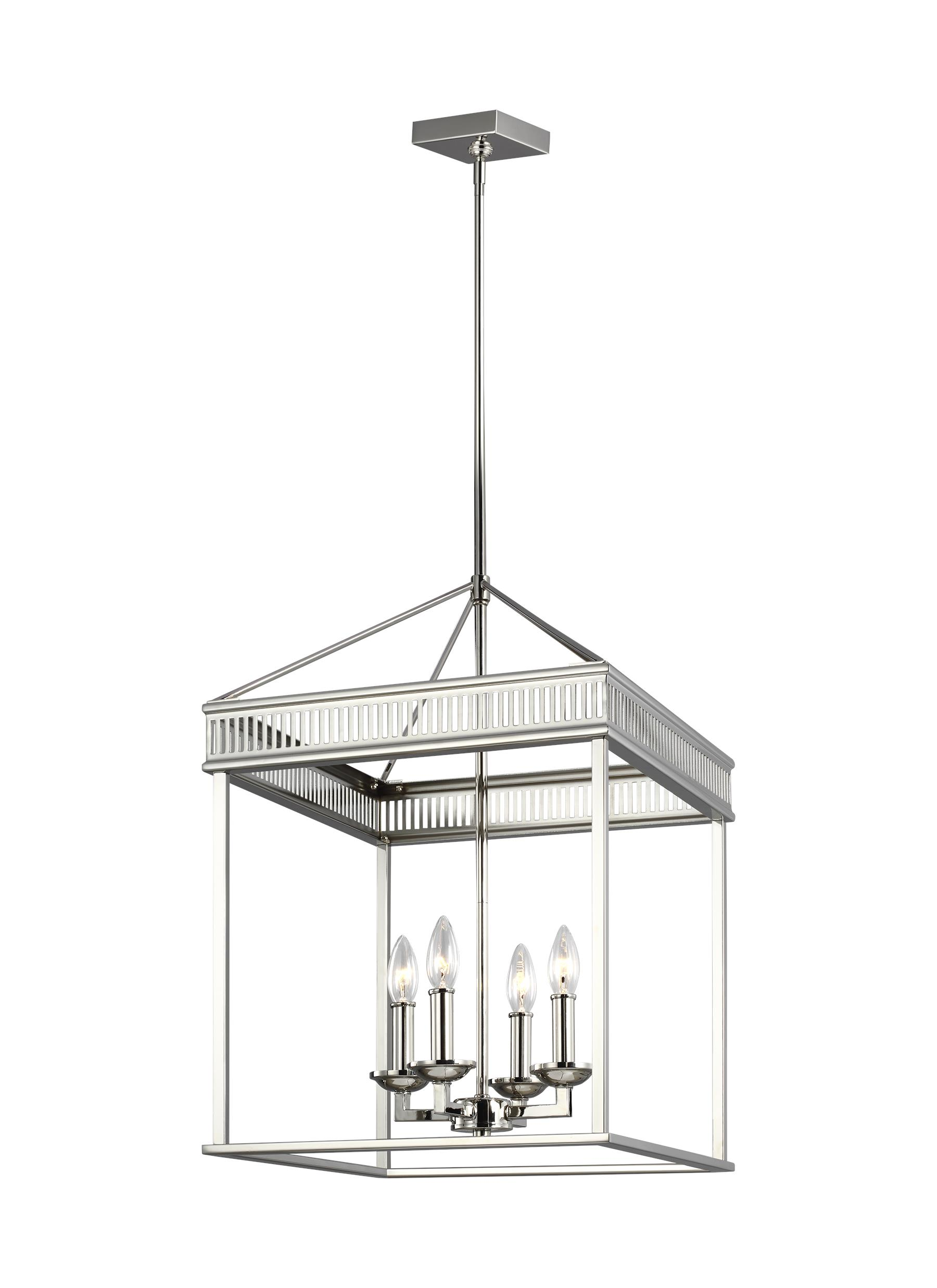 Woodruff lighting collection from feiss 4 light chandelier arubaitofo Image collections