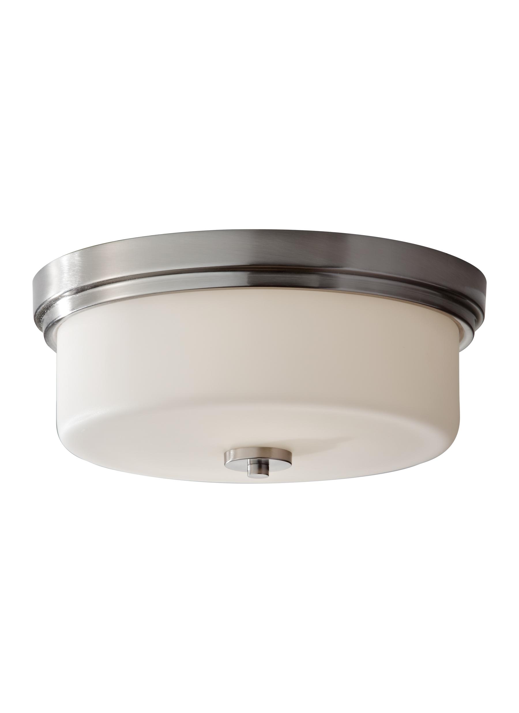 Fm370bs2 light indoor flush mount brushed steel loading zoom arubaitofo Gallery