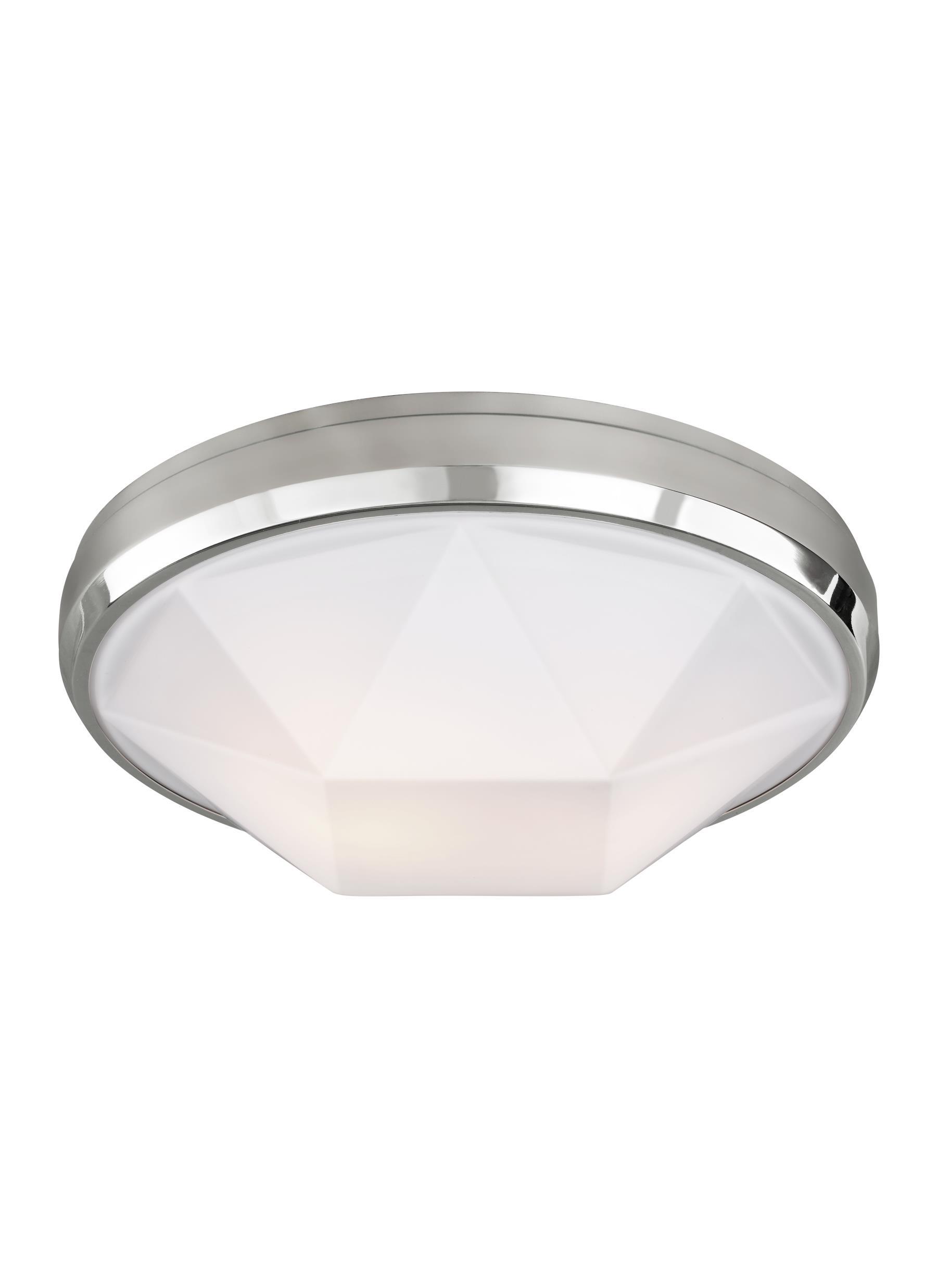 FM515CH 2 Light Flushmount Chrome