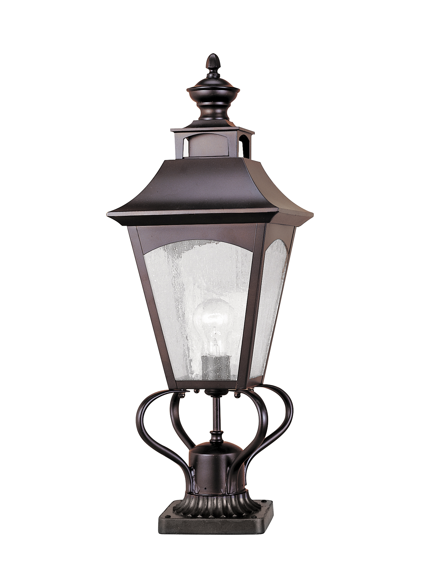 Ol1007orb 1 Light Post Oil Rubbed Bronze