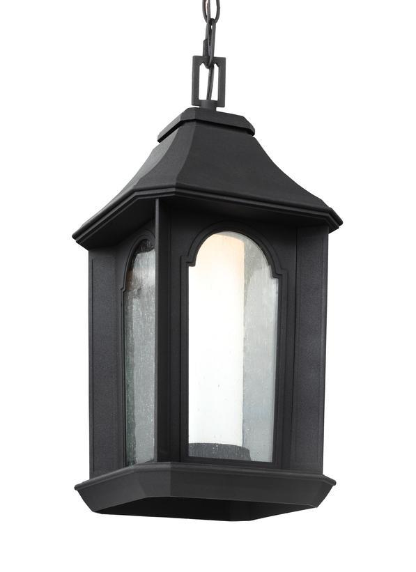Ol11509txb led1 light outdoor led pendant lanterntextured black aloadofball Images