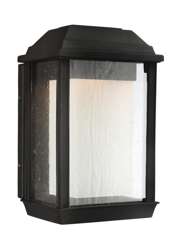 Ol12800txb led1 light outdoor led wall lanterntextured black aloadofball Choice Image