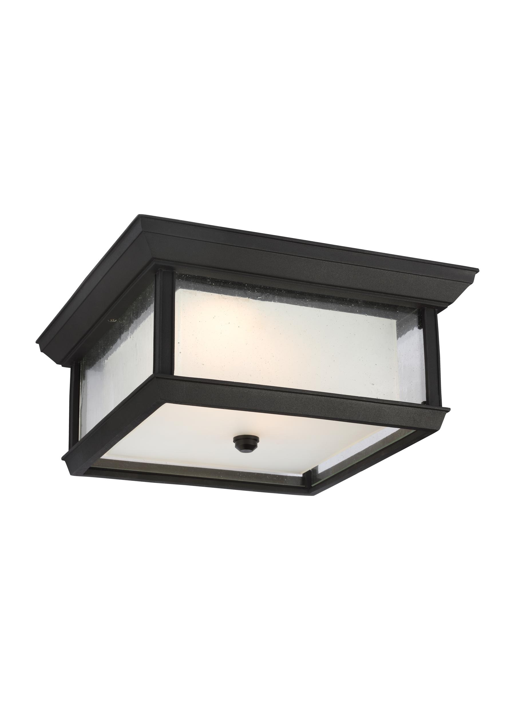 Ol12813txb led2 light outdoor led flush mounttextured black loading zoom mozeypictures Image collections