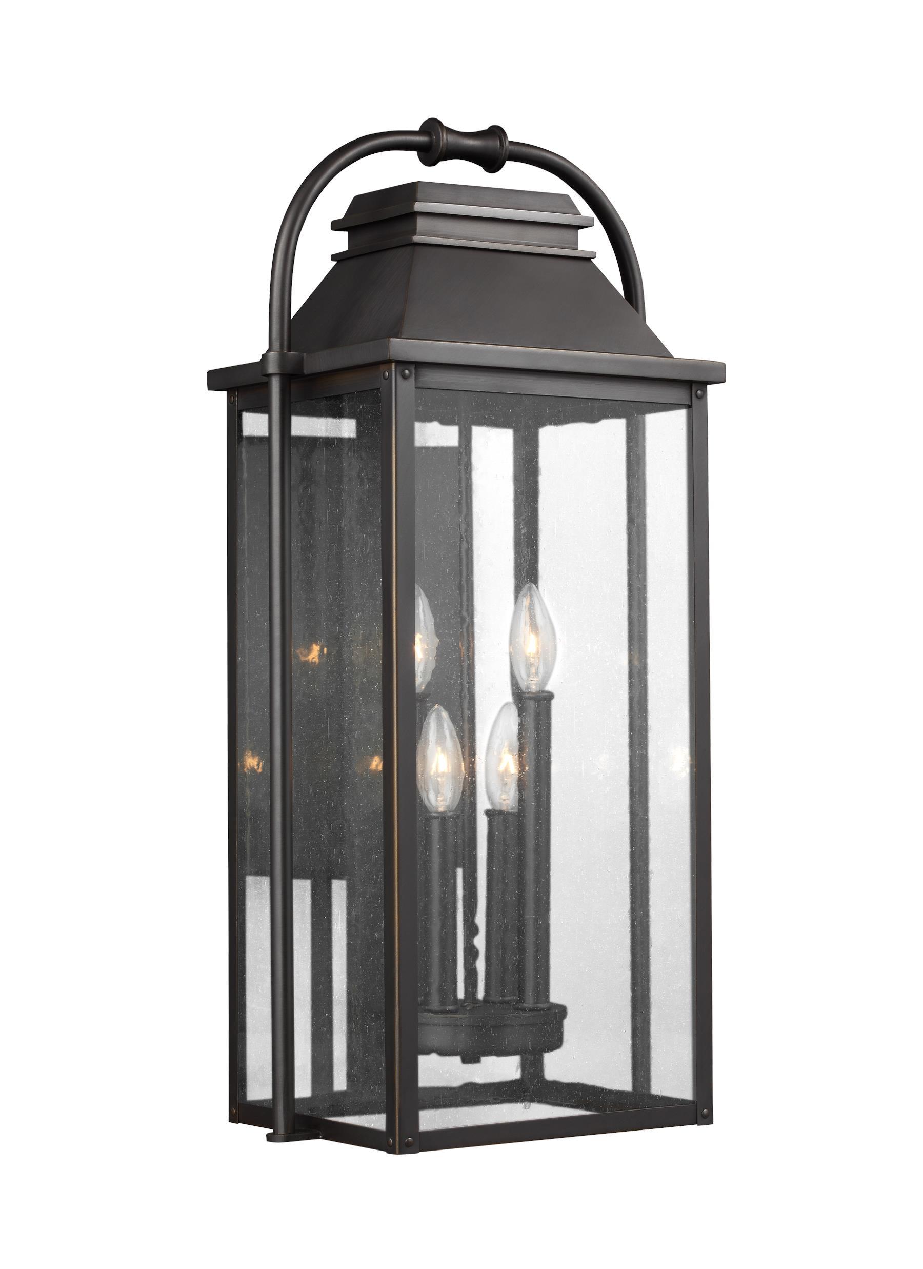 OL13202ANBZ,4 - Light Outdoor Wall Lantern,Antique Bronze