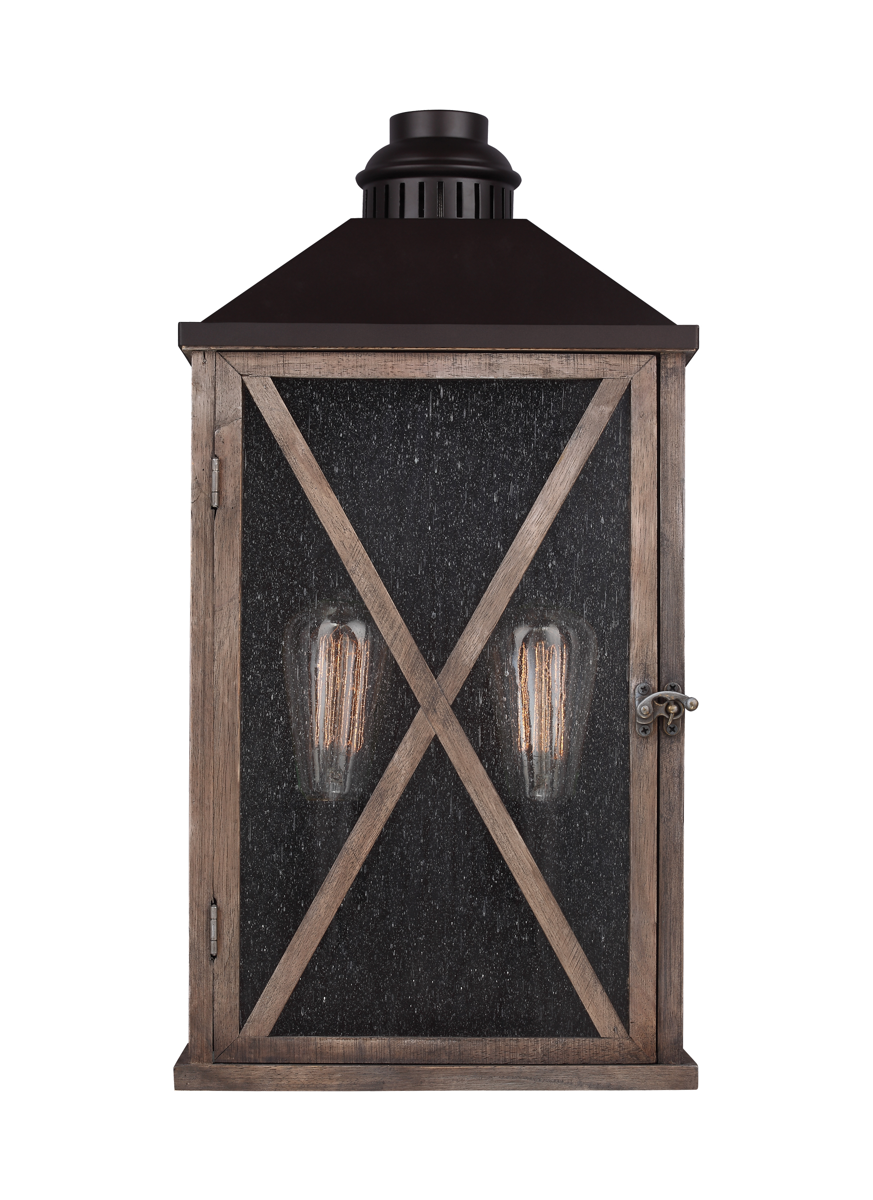 buy online bbd0a 566dd OL17004DWO/ORB, 2 - Light Outdoor Wall Sconce,Dark Weathered ...