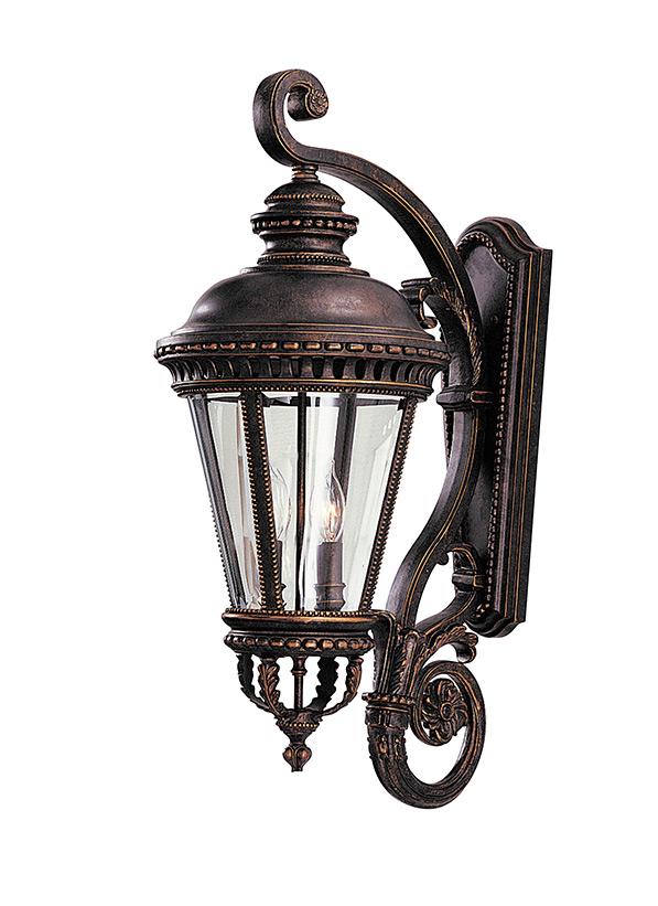 Ol1901gbz 3 Light Wall Lantern Grecian Bronze