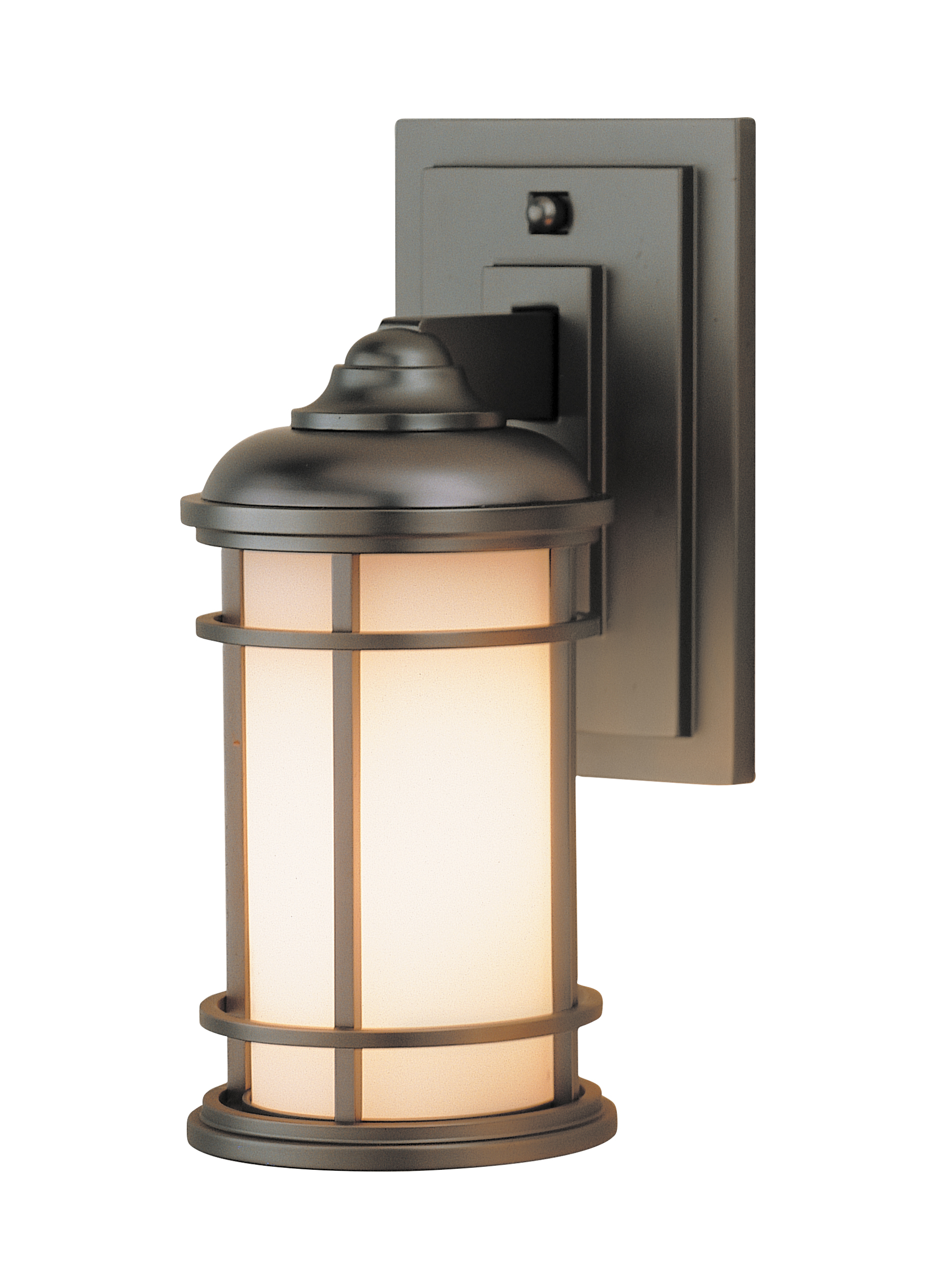 Murray Feiss Outdoor Lighting Ol2200bb led1 light wall lanternburnished bronze loading zoom workwithnaturefo