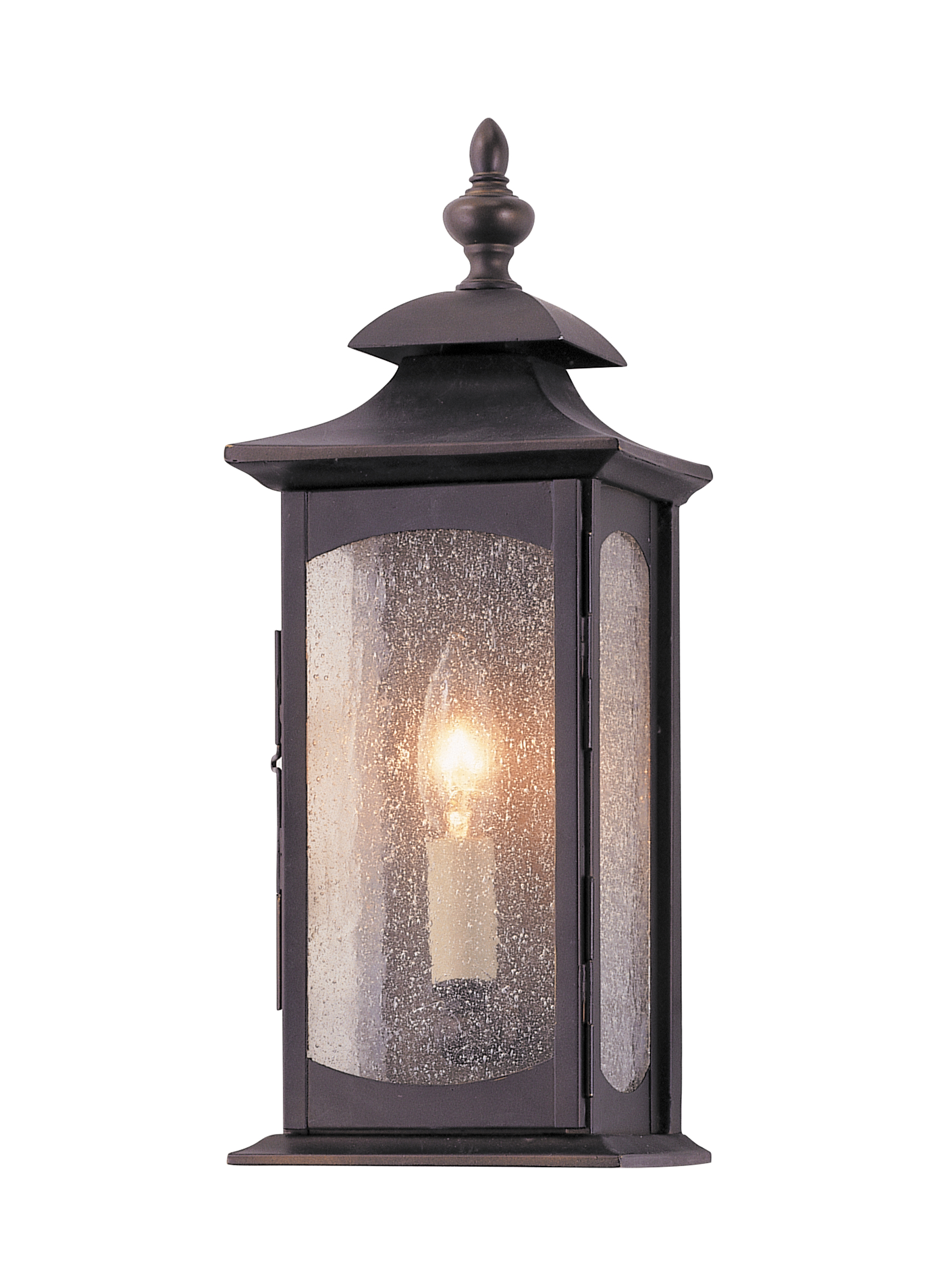 Oil Rubbed Bronze Wall Sconce Option Style 1 - LIGHT WALL LANTERN. Oil Rubbed Bronze. STYLE NO.