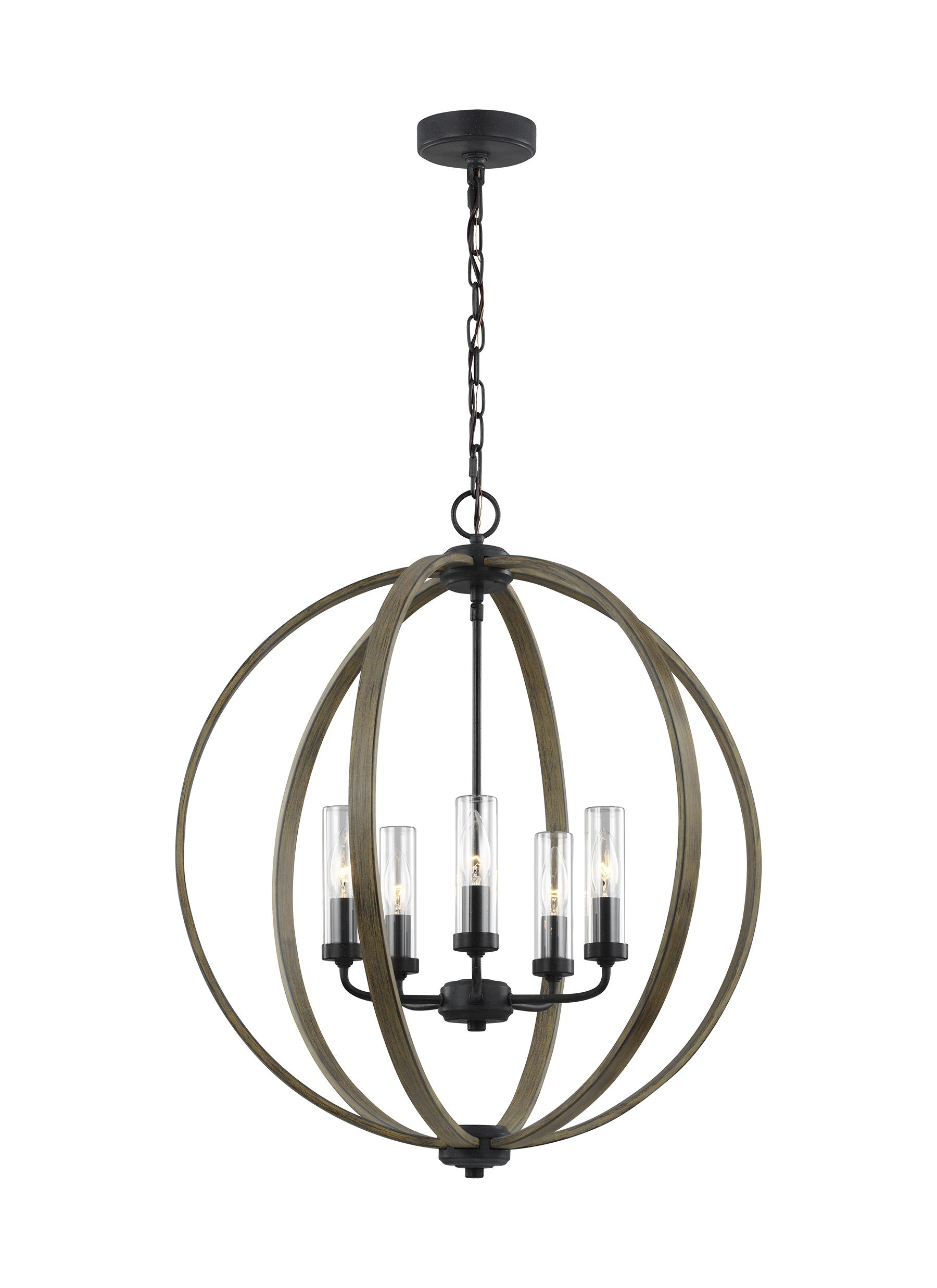 Allier lighting collection from feiss 5 light chandelier arubaitofo Gallery