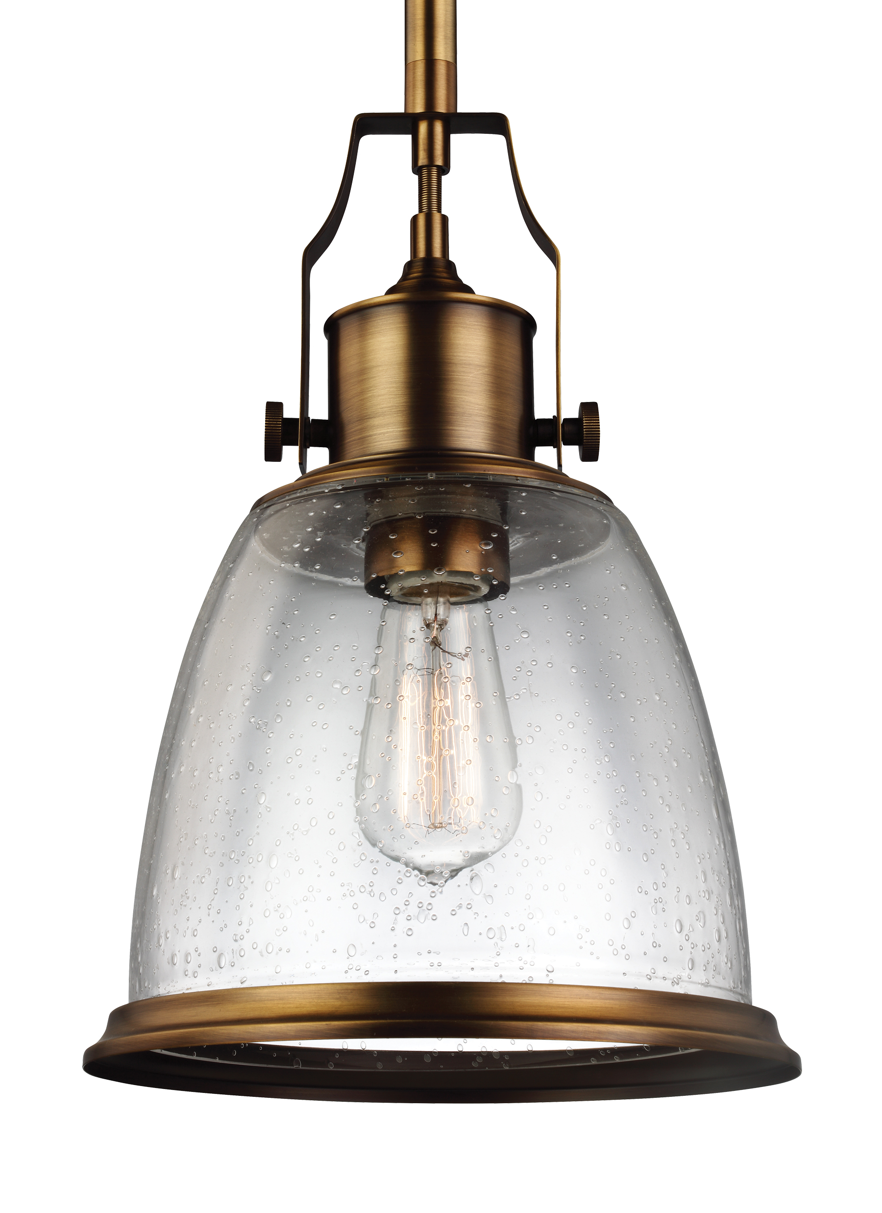 optic with light brass lantern antique glass ribbed pendant clear
