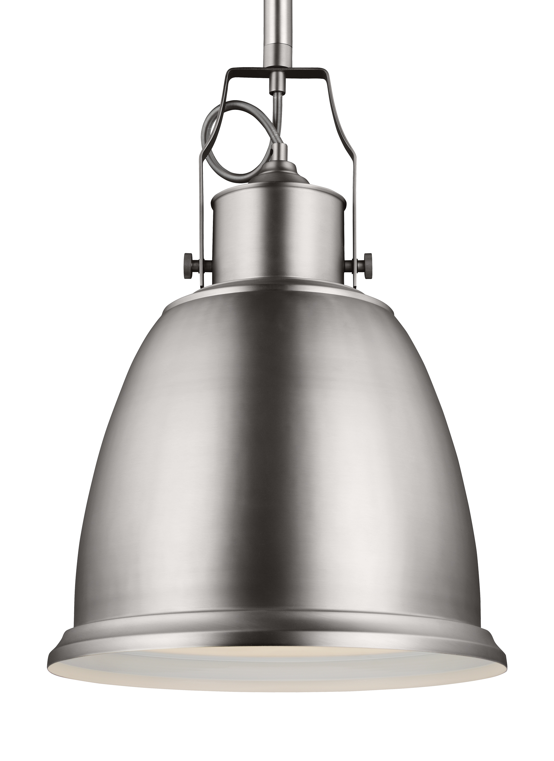 P1359sn 1 Light Pendant Satin Nickel