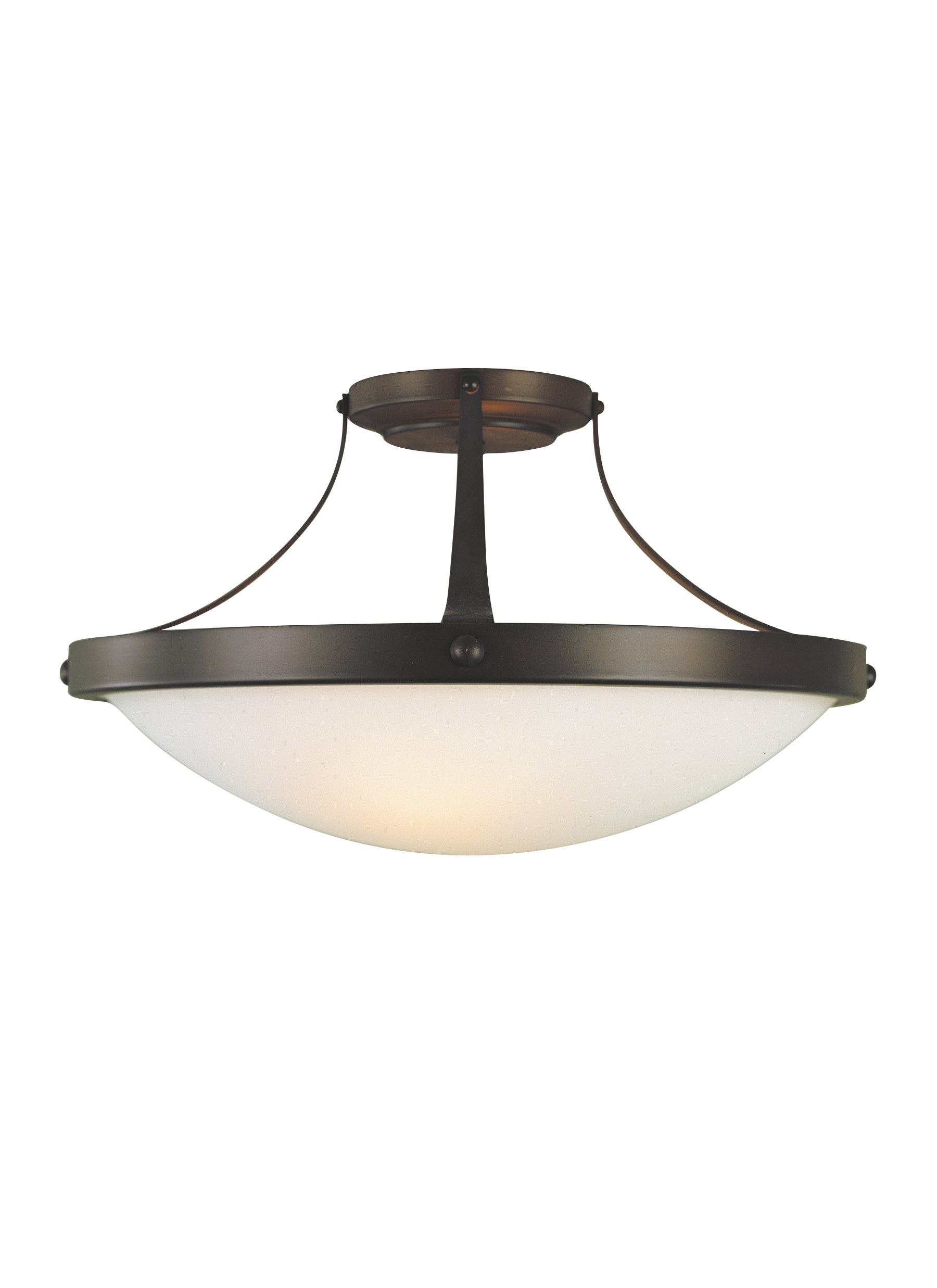 SF187ORB,2 - Light Indoor Semi-Flush Mount,Oil Rubbed Bronze