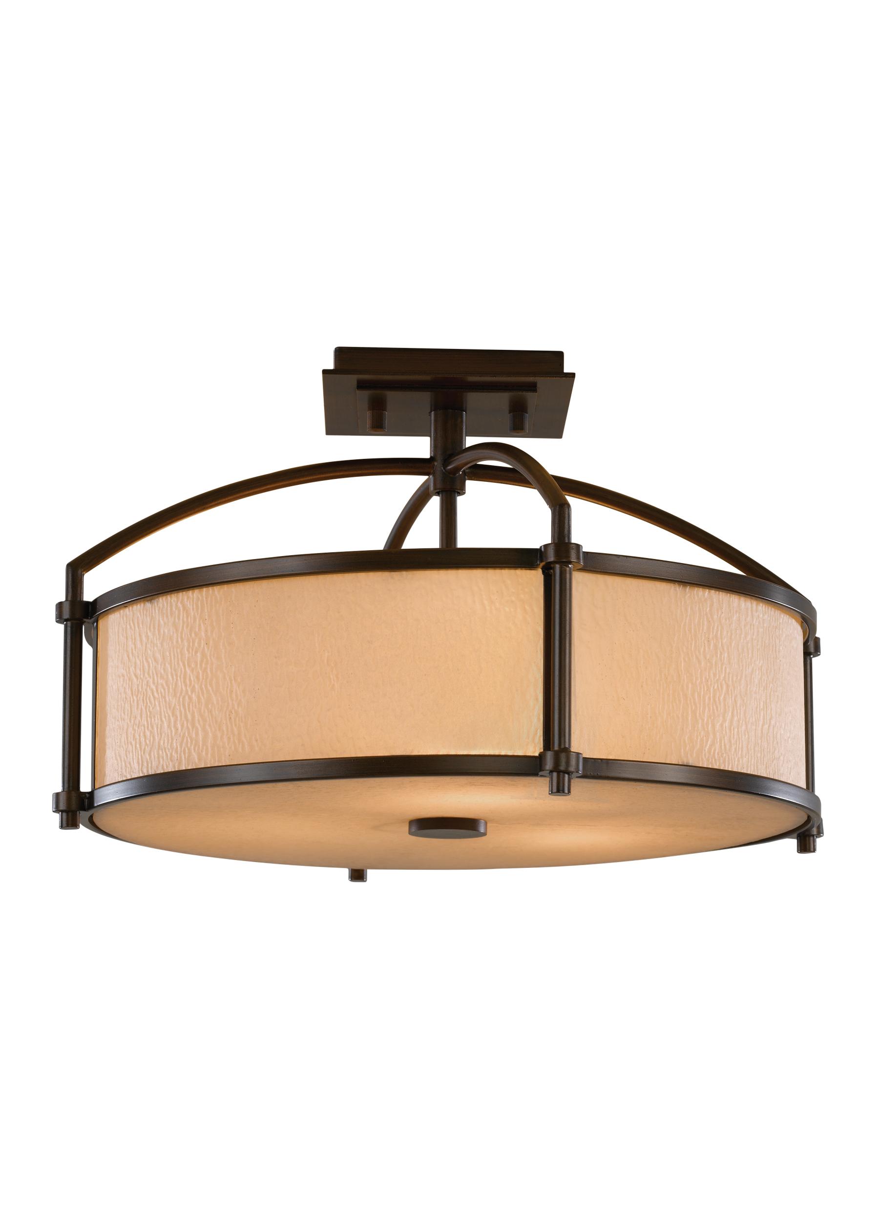 Preston Collection · 3 - Light Indoor Semi-Flush Mount  sc 1 st  Feiss & Preston Lighting Collection from Feiss azcodes.com