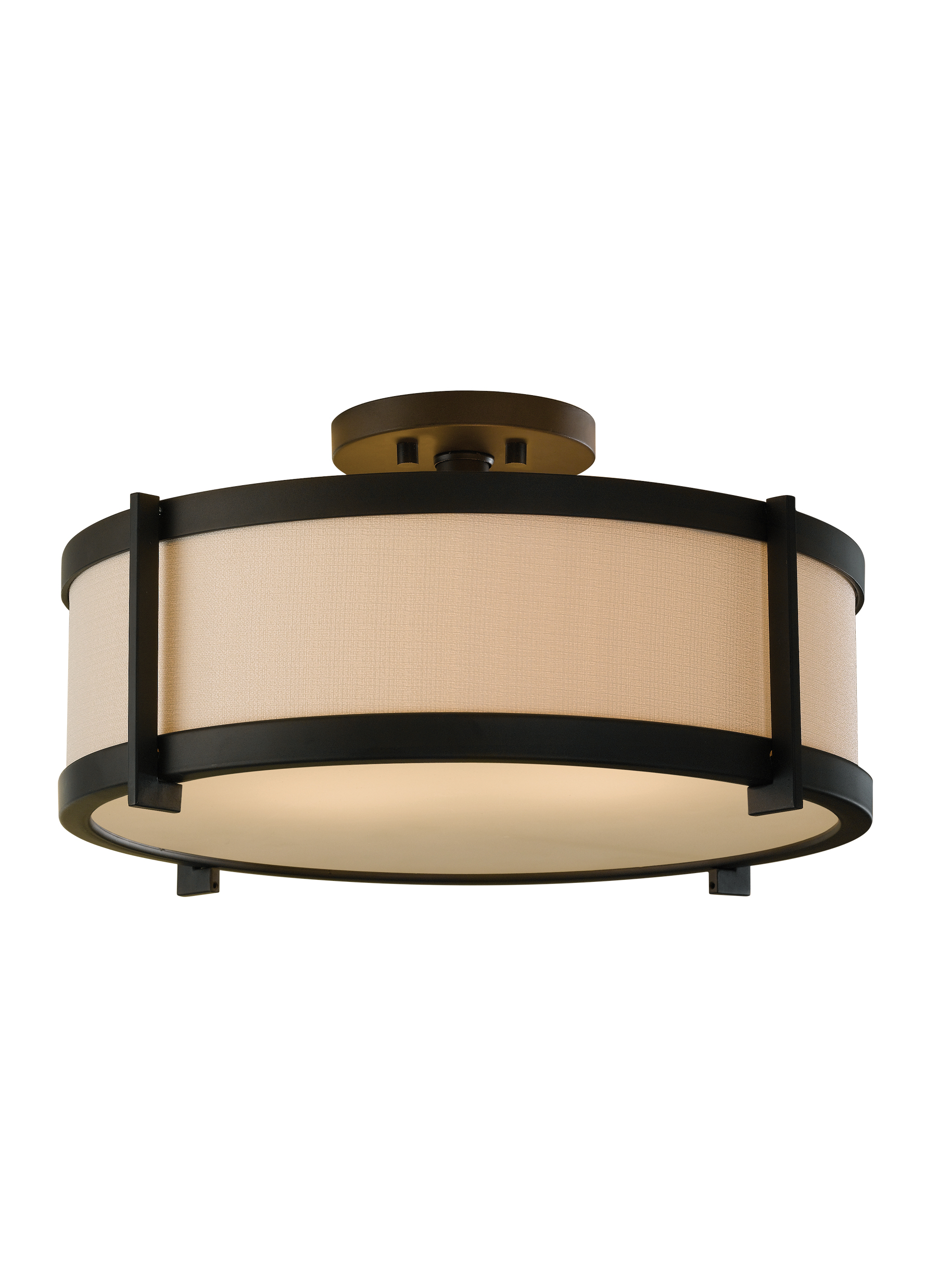 SF272ORB,2 - Light Indoor Semi-Flush Mount,Oil Rubbed Bronze