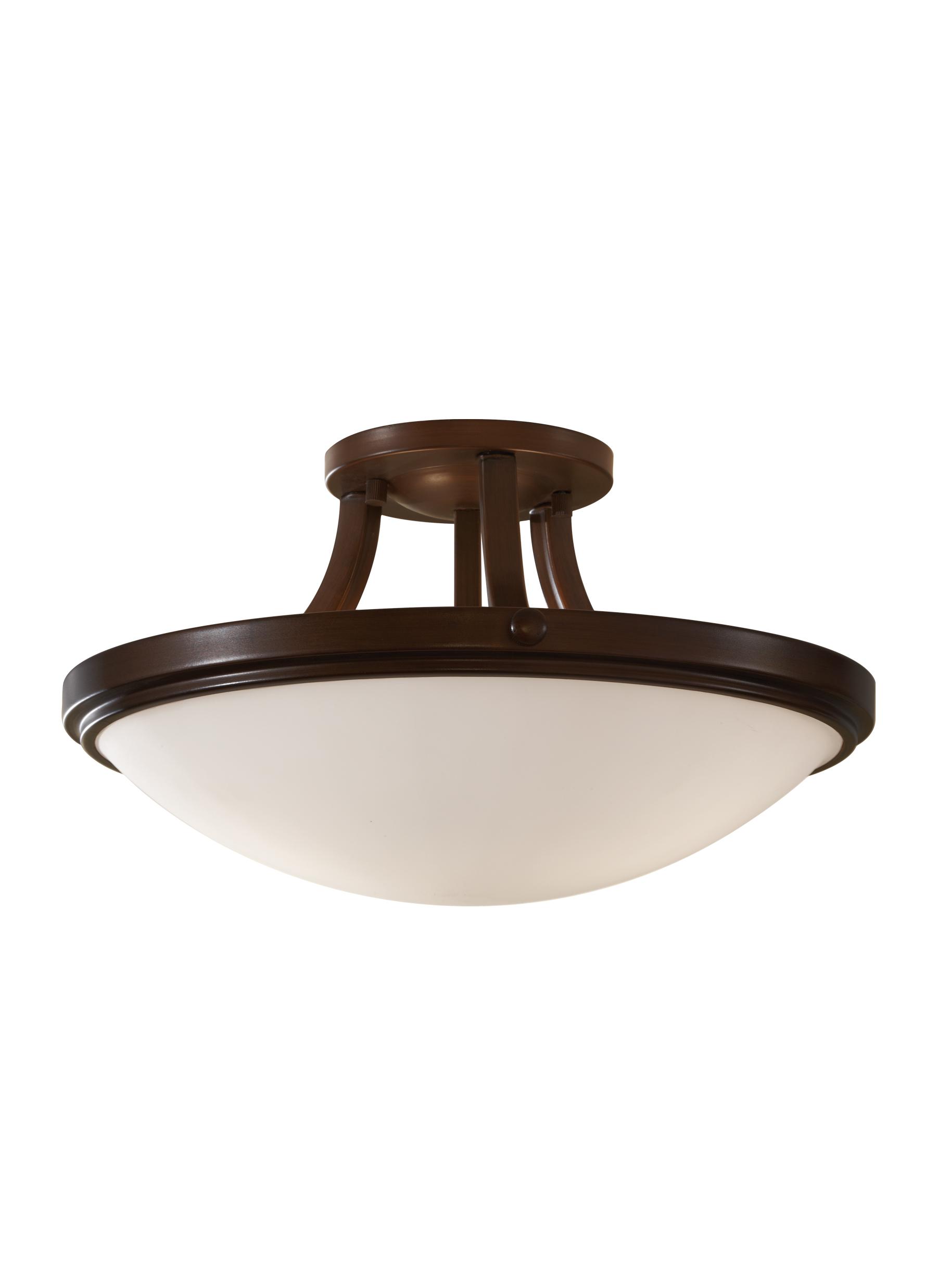 Kitchen Flush Mount Lighting Sf283htbz2 Light Indoor Semi Flush Mountheritage Bronze