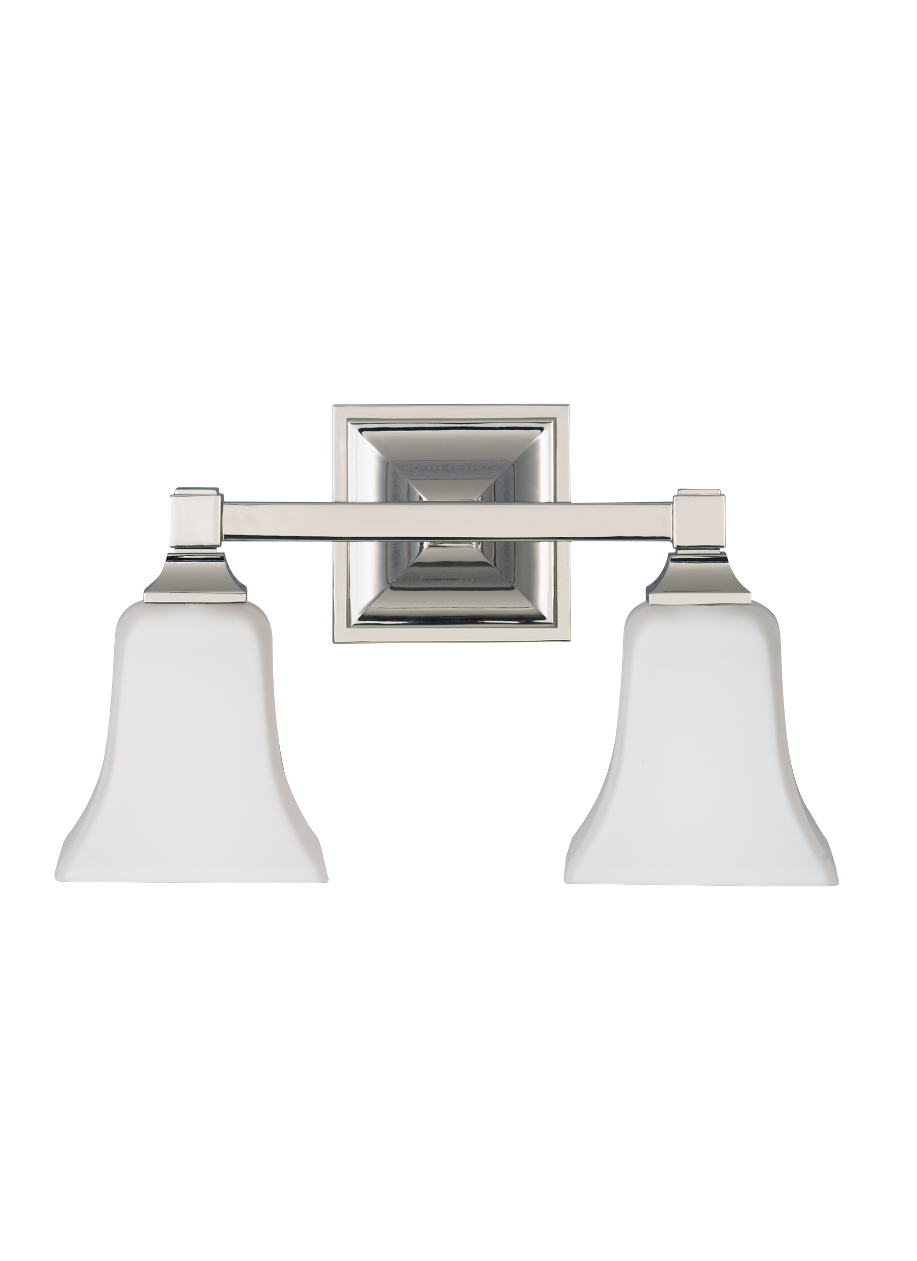 VS PN 2 Light Vanity Fixture Polished Nickel