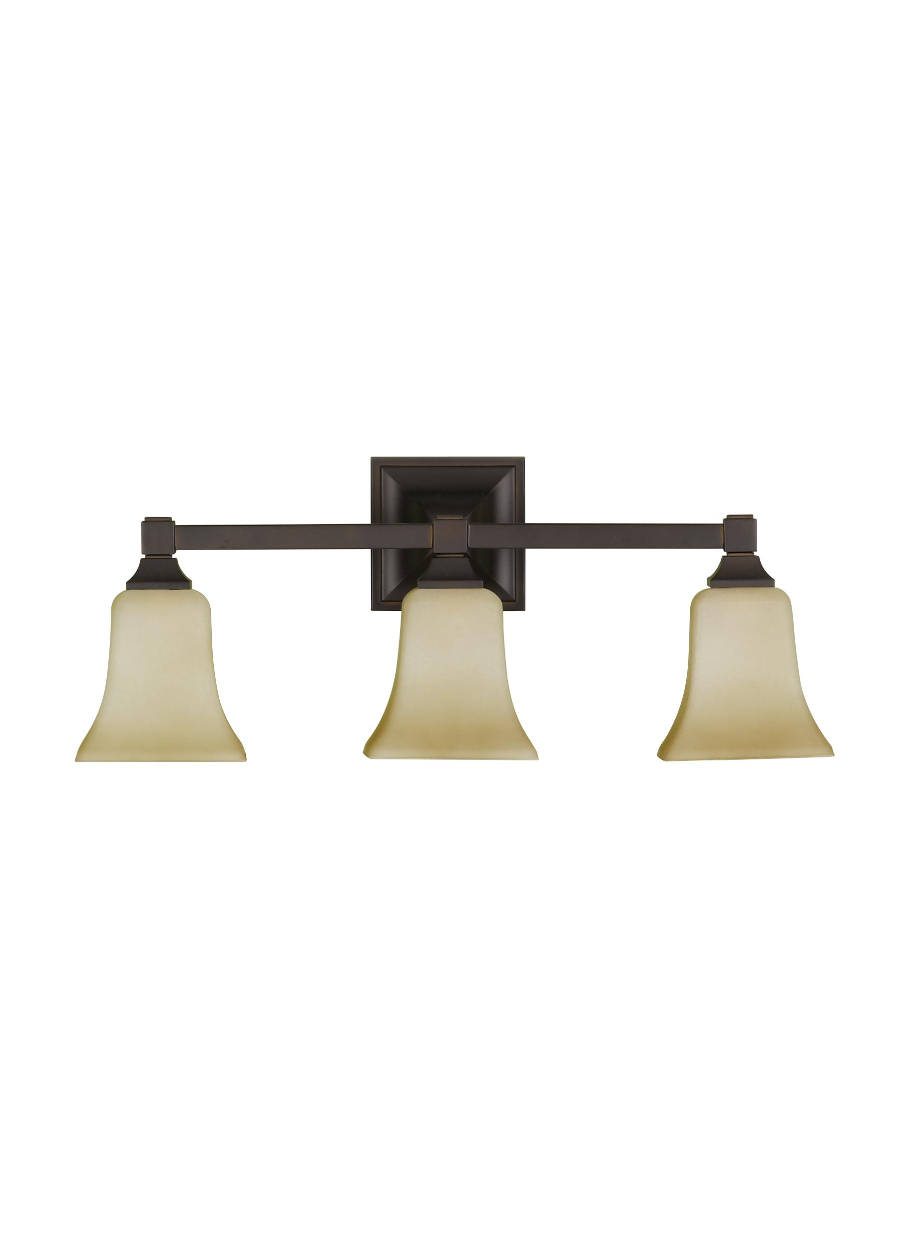 VS12403ORB3 Light Vanity FixtureOil Rubbed Bronze – 3 Light Bathroom Fixture