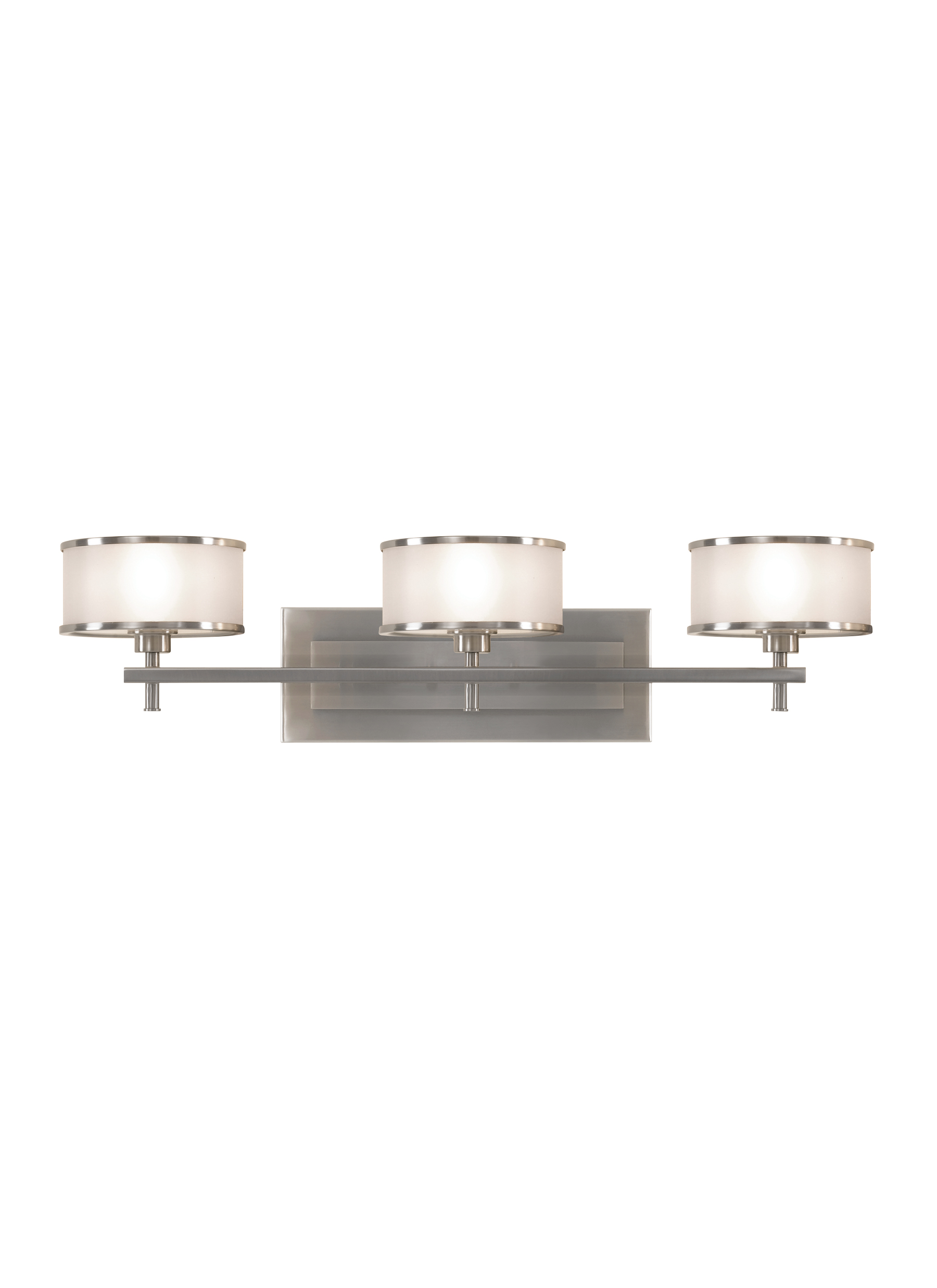 Vs13703 bs3 light vanity fixturebrushed steel loading zoom aloadofball Gallery