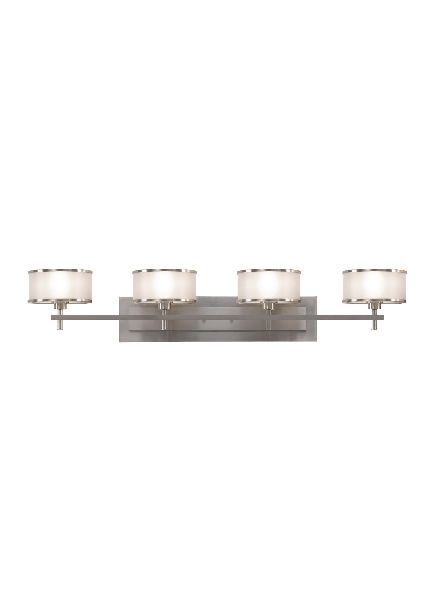 Vs13704 bs4 light vanity fixturebrushed steel loading zoom arubaitofo Gallery