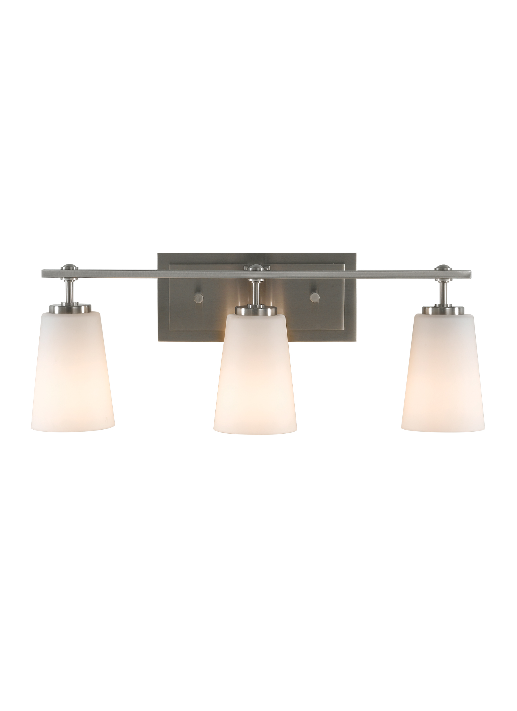 VS14903-BS,3 - Light Vanity Fixture,Brushed Steel