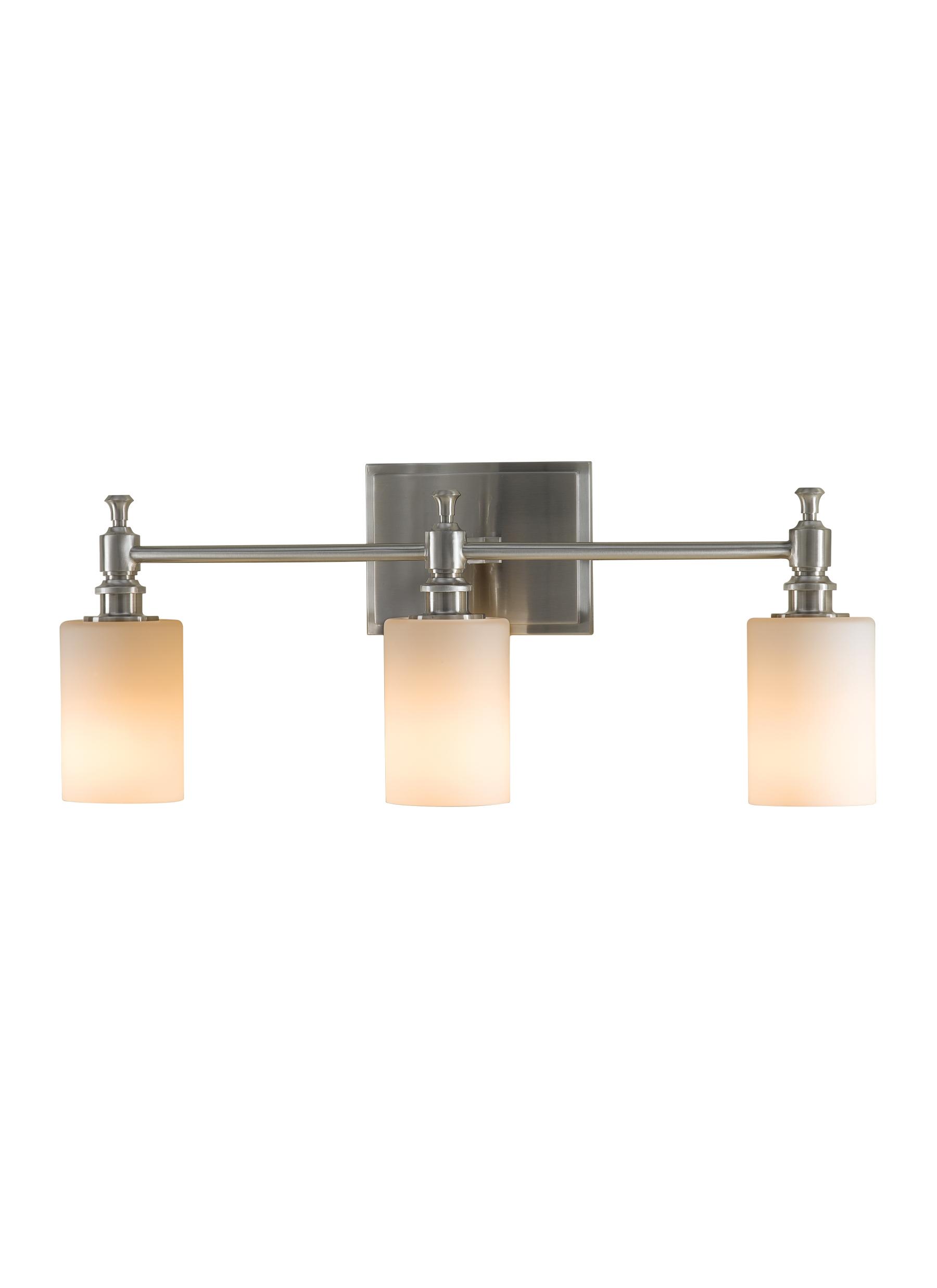 VSBS Light Vanity FixtureBrushed Steel - Murray feiss bathroom lighting fixtures