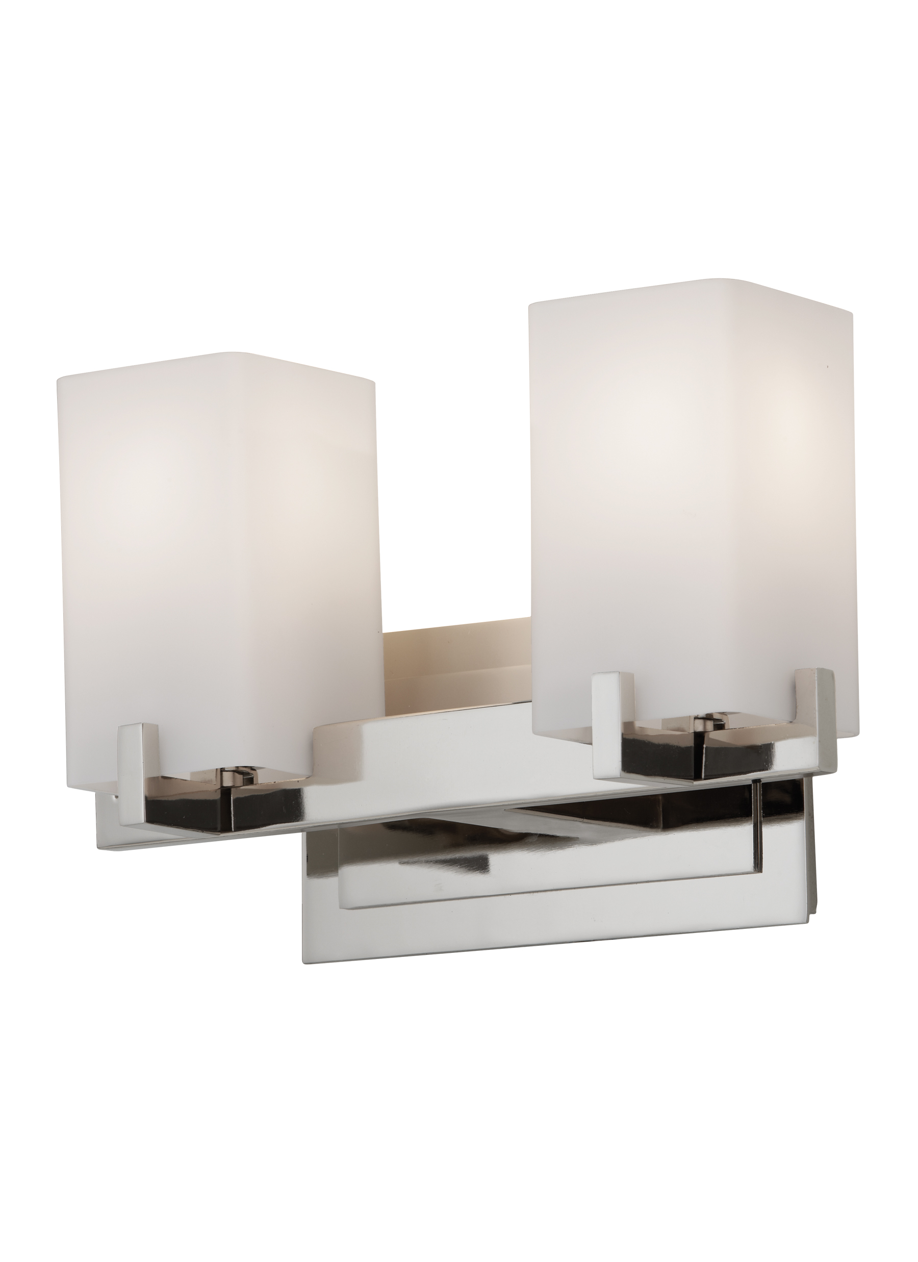 VS18402-PN,2 - Light Vanity Fixture,Polished Nickel