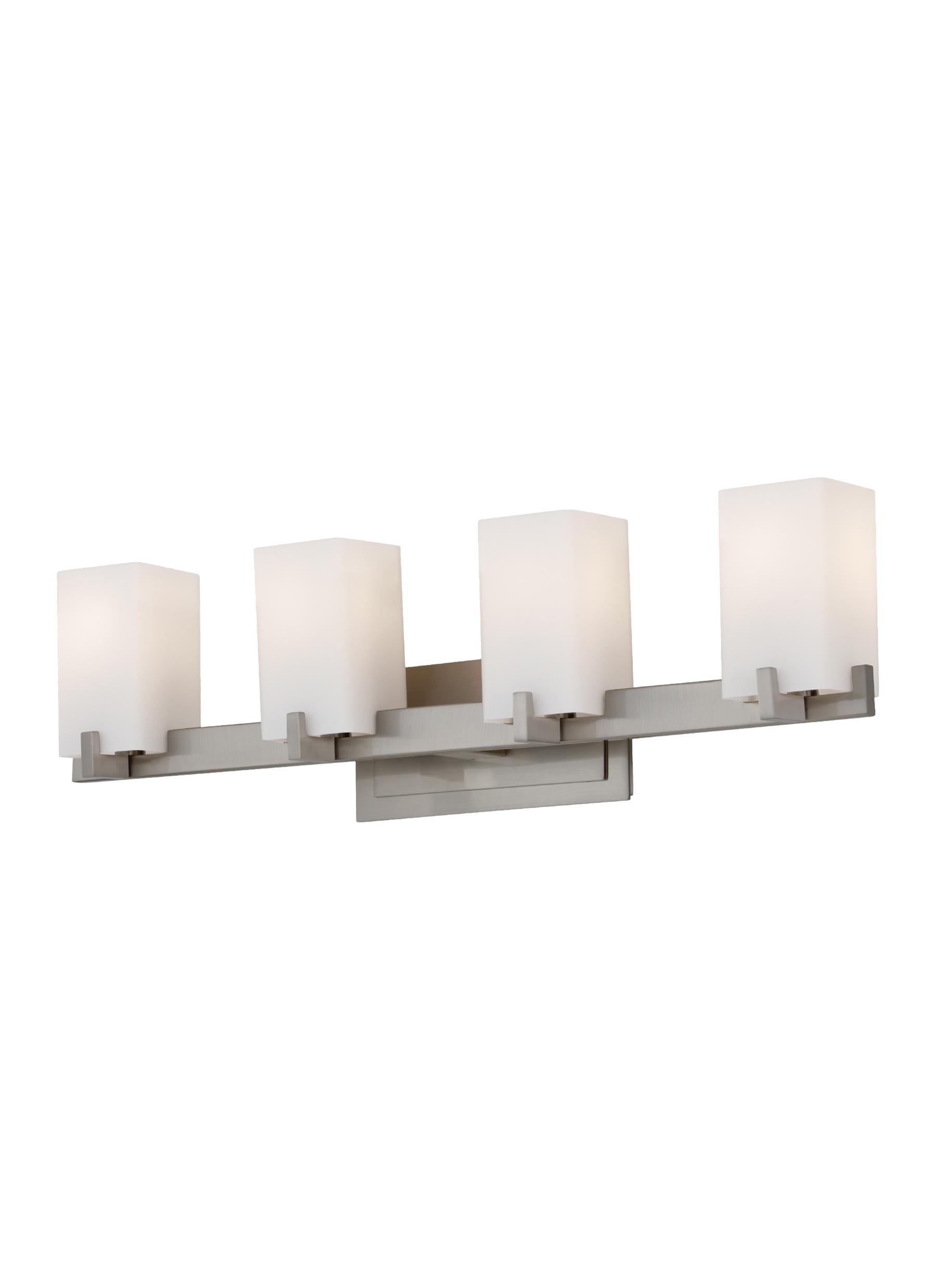 Vs18404 bs4 light vanity fixturebrushed steel loading zoom aloadofball Images