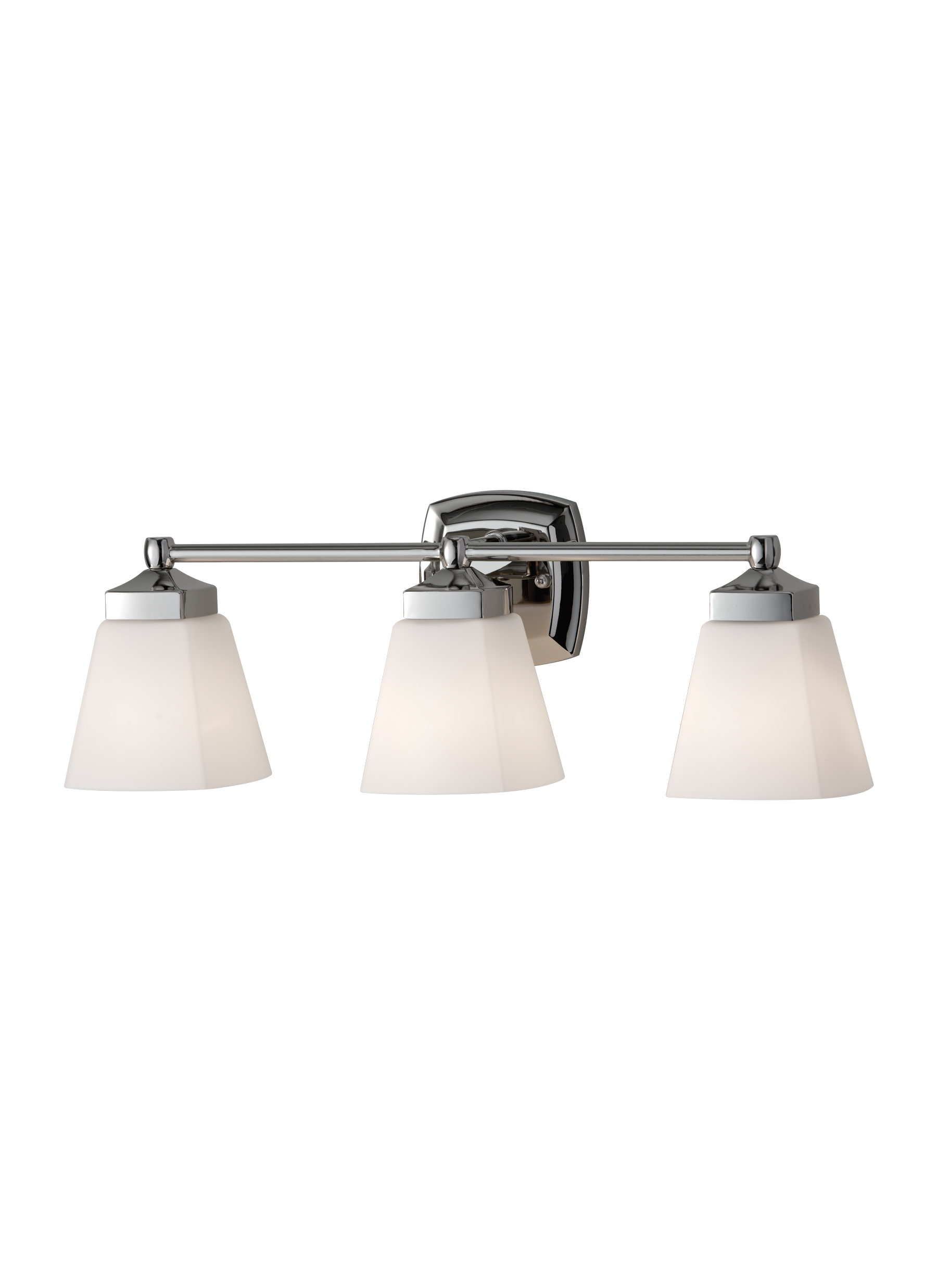 VS19903-PN,3-Light Vanity Strip,Polished Nickel