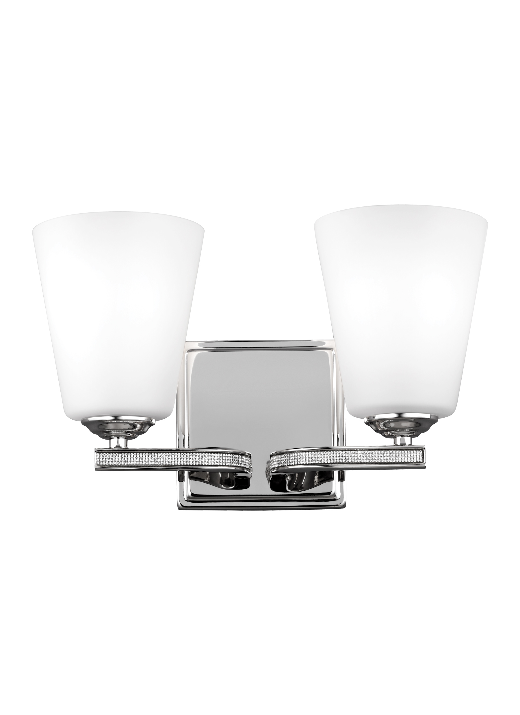 Bathroom Vanity Lights Polished Nickel vs20202pn,2 - light vanity,polished nickel