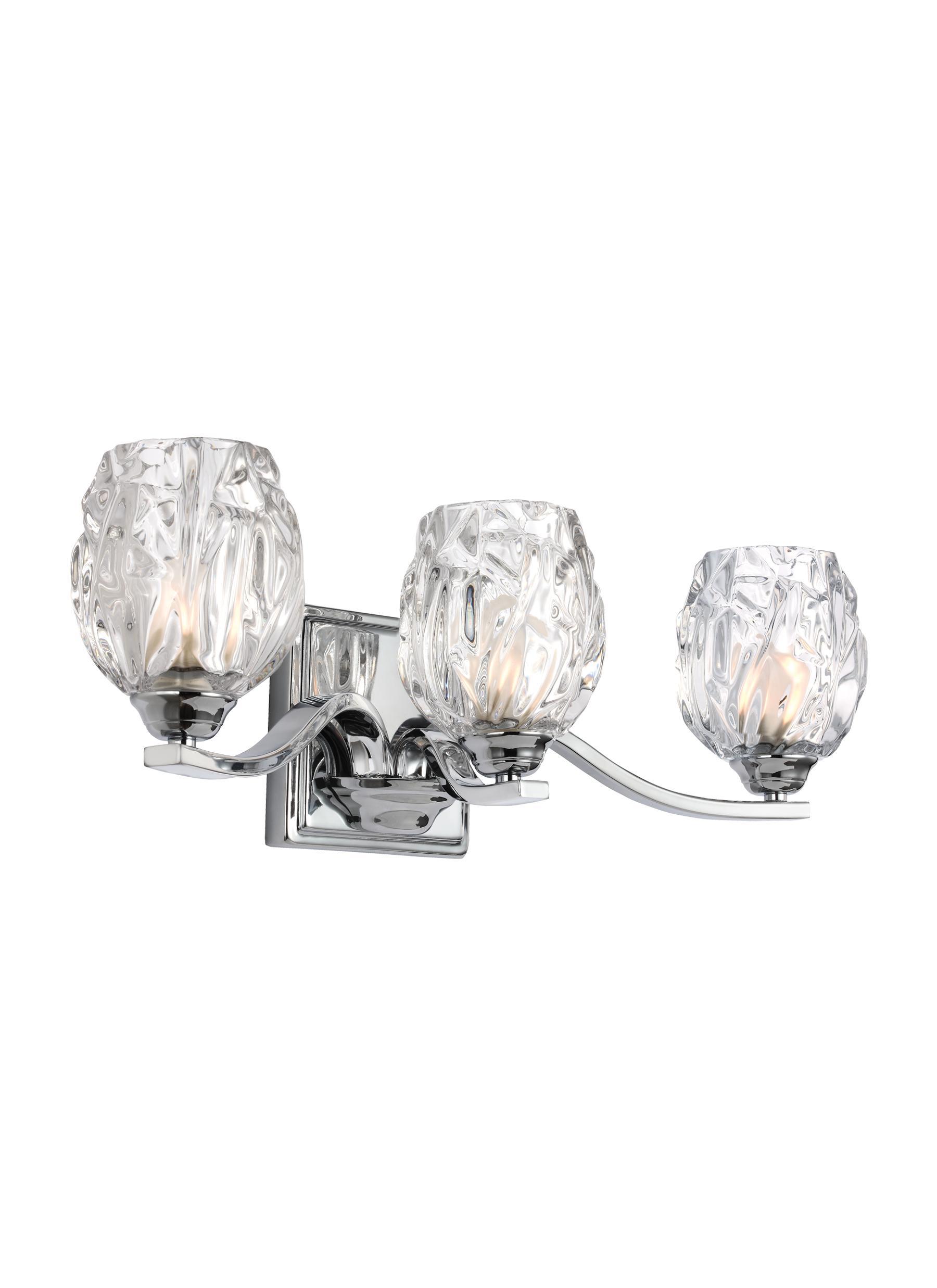 VSCH Light VanityChrome - Bathroom vanity lights chrome finish