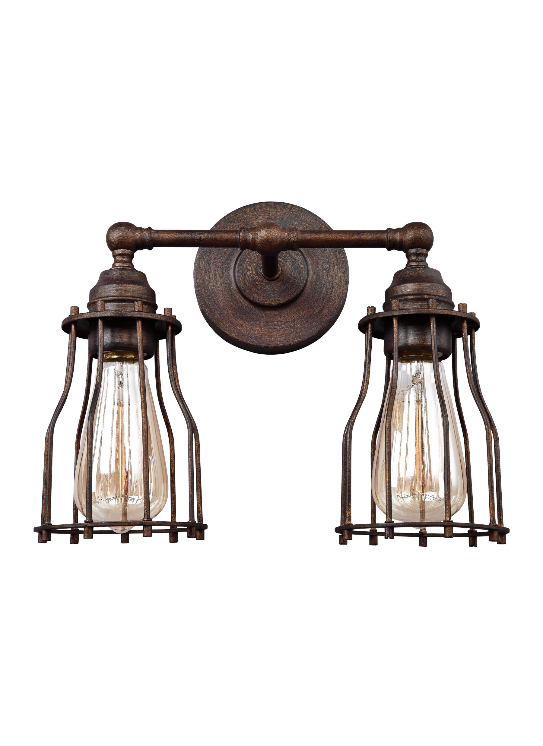 Calgary lighting collection from feiss calgary collection 2 light vanity arubaitofo Image collections