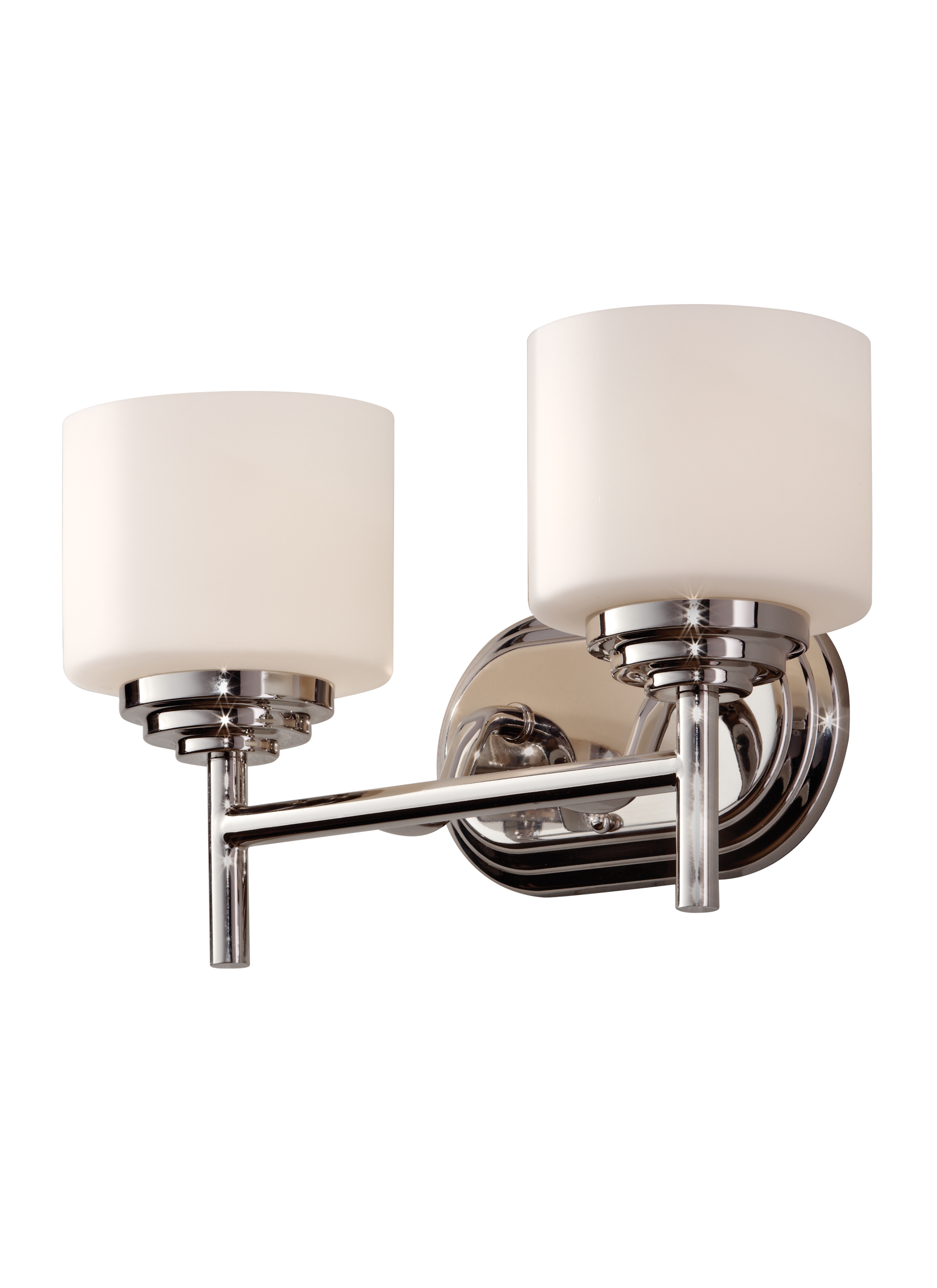 Bathroom Lighting Fixtures Polished Nickel vs26002-pn,2 - light vanity fixture ,polished nickel