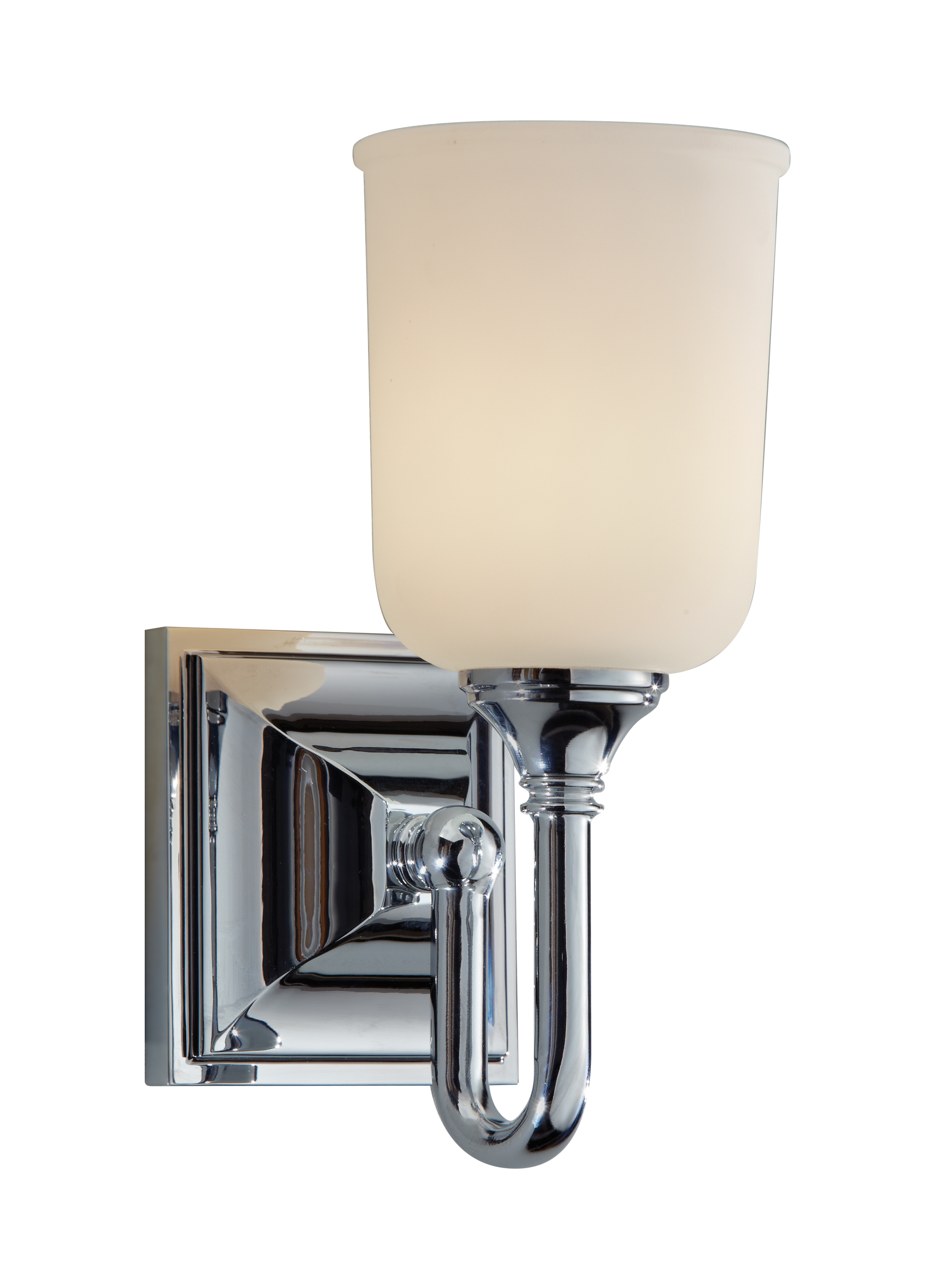 VS27001-CH,1 - Light Vanity Strip,Chrome